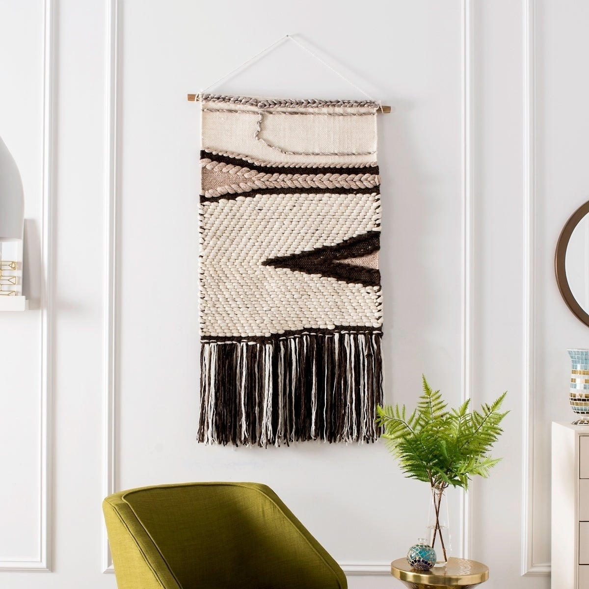 Shop Safavieh Sedona Hand Woven Wall Tapestry 111 – 2' X 3' – Free For Well Known 4 Piece Handwoven Wheel Wall Decor Sets (View 8 of 20)