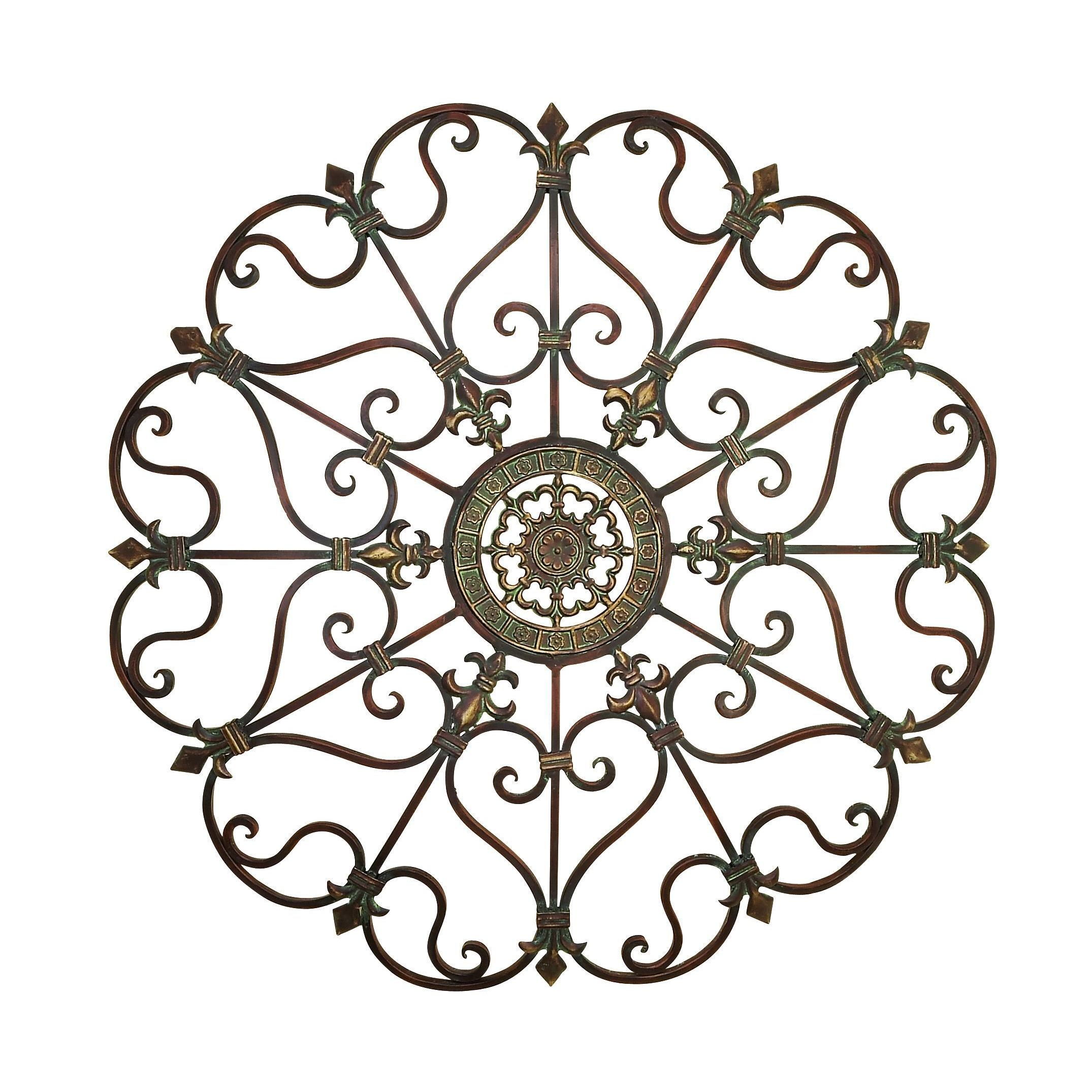 Shop Traditional 29 Inch Ornate Metal Wall Decorstudio 350 In 2019 Ornate Scroll Wall Decor (View 18 of 20)