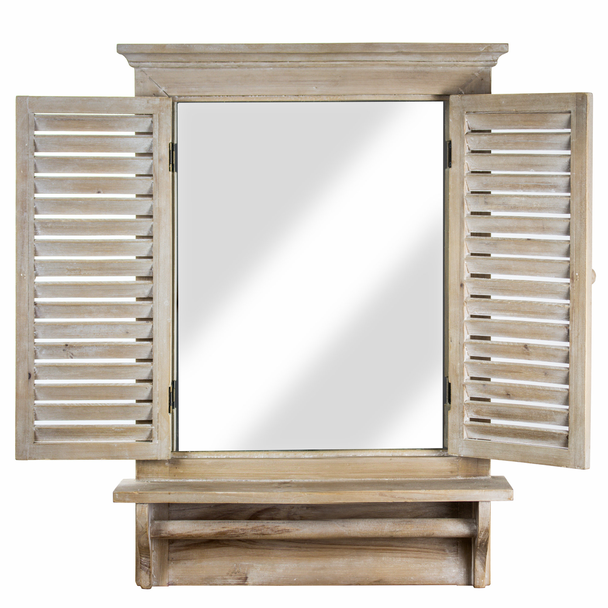 Shutter Window Hanging Wall Decor With 2019 Ophelia & Co (View 15 of 20)