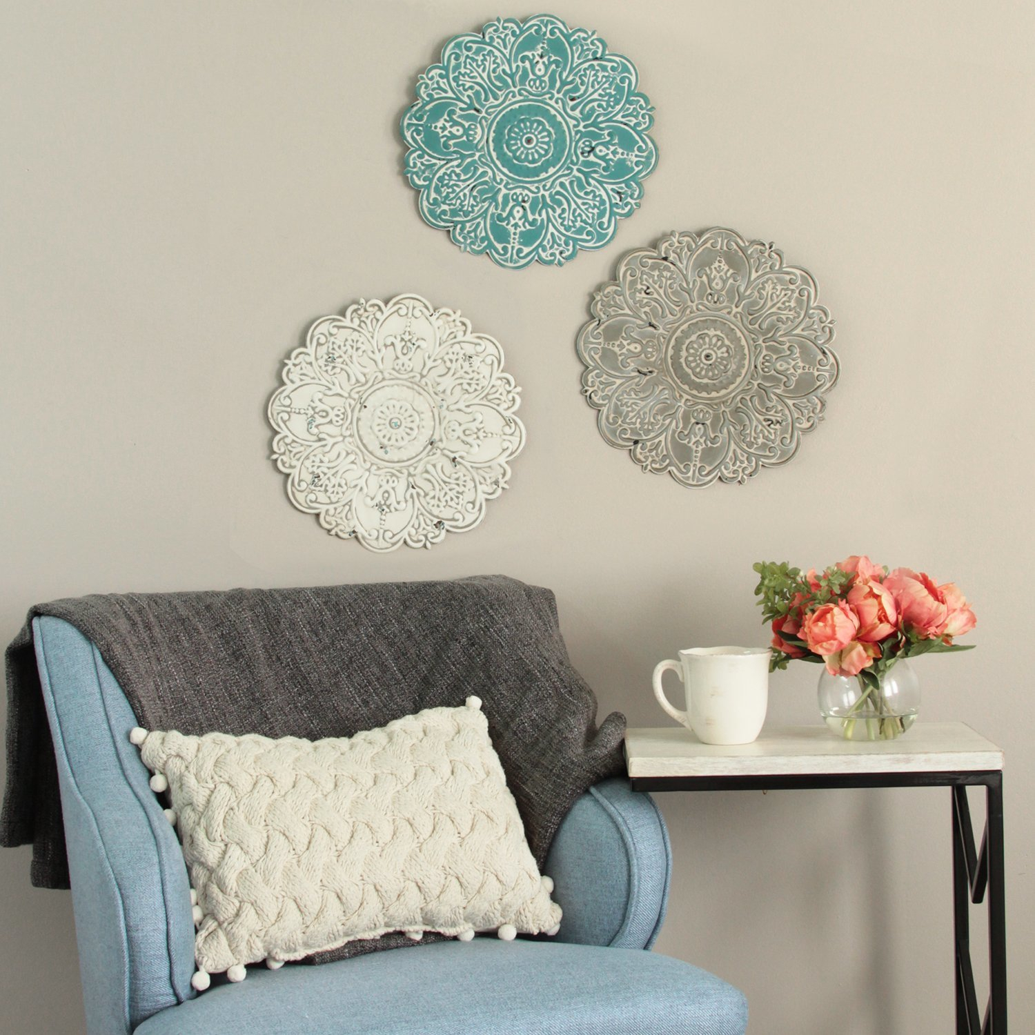 Small Medallion Wall Decor For 2020 Bungalow Rose Small Medallion Wall Décor & Reviews (View 11 of 20)