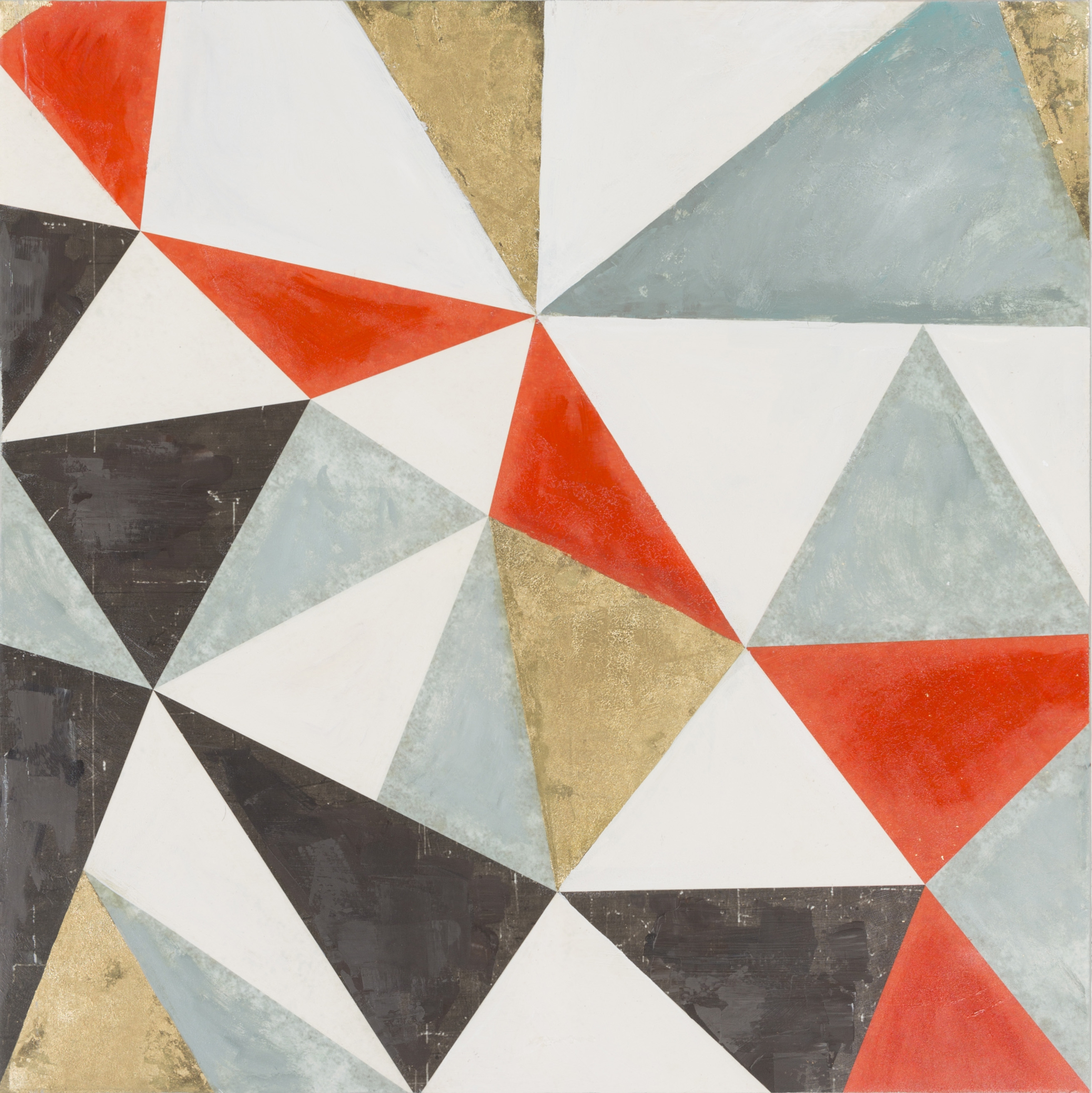 Stanley Contemporary Geometric Wall Art (W 40 X H 50) (Gallery 20 of 20)