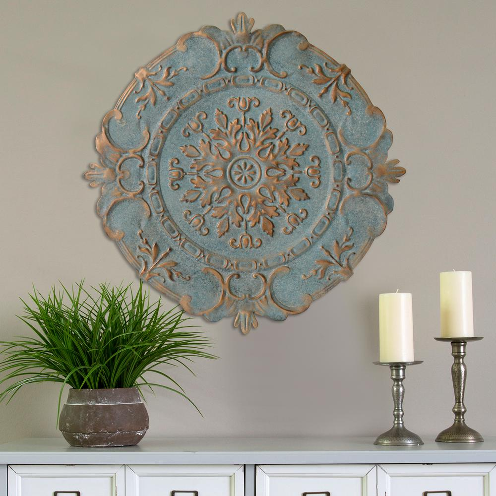 Featured Photo of European Medallion Wall Decor