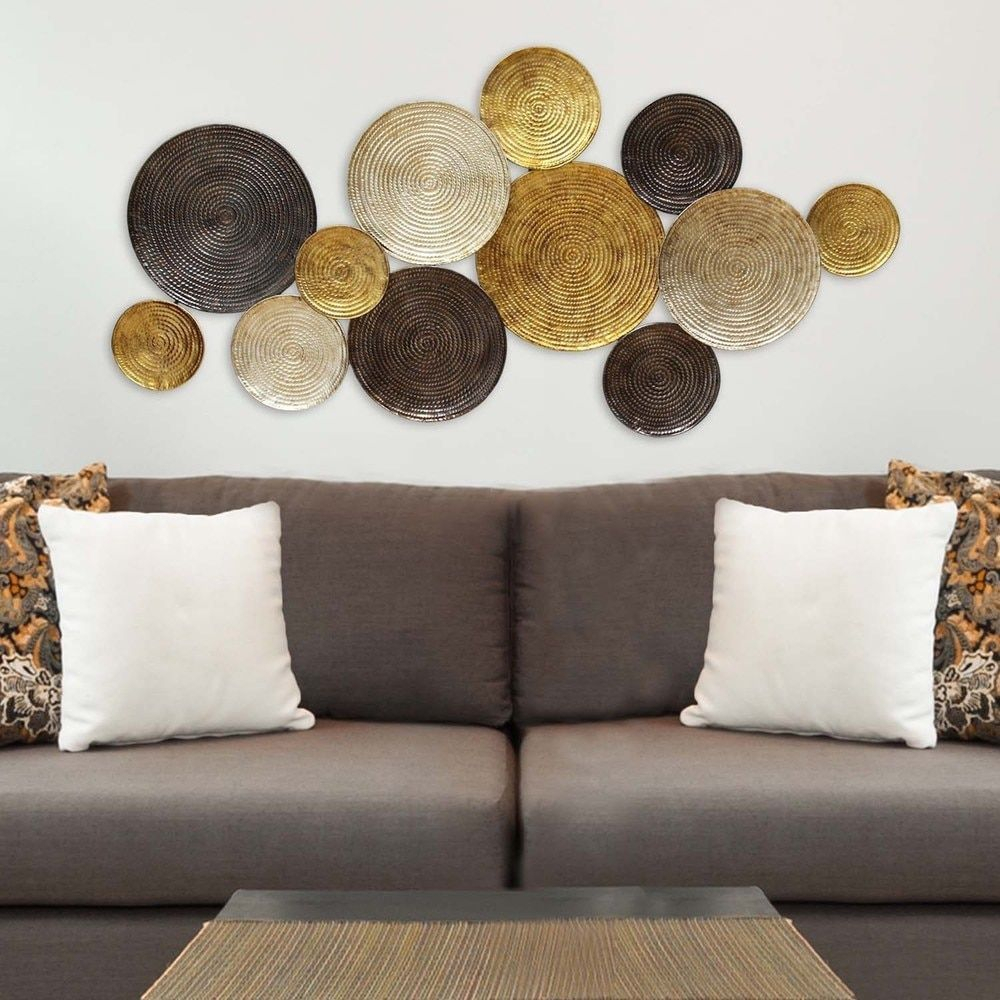 Stratton Home Decor Multi Circles Wall Decor (View 2 of 20)