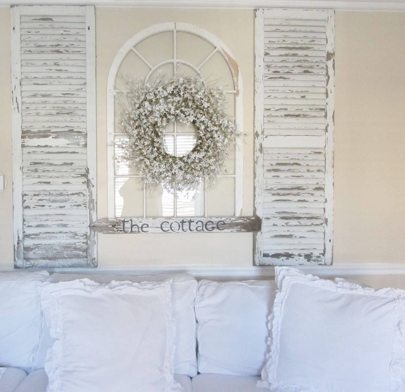 Taking Old Shutters And An Old Arch (View 16 of 20)