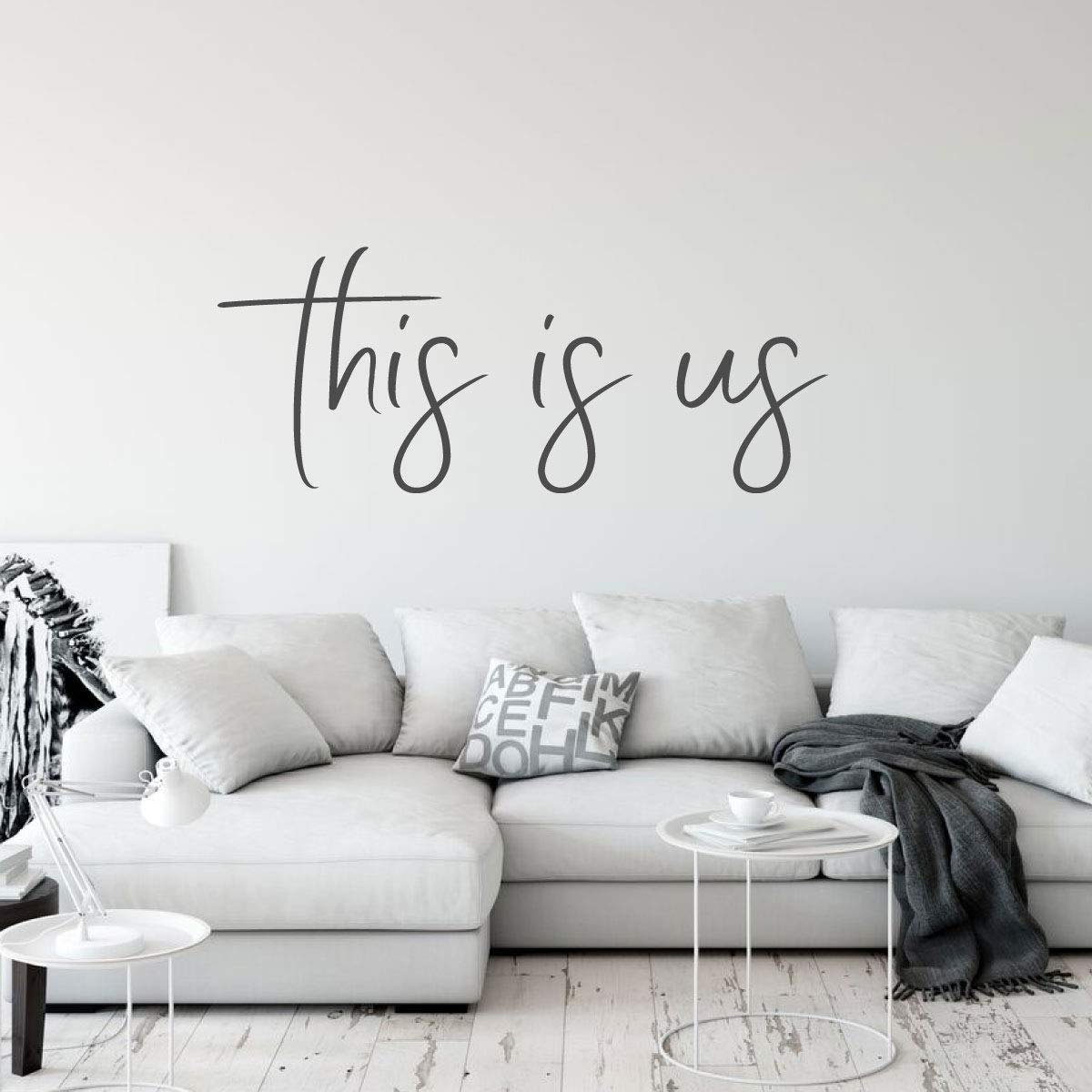 This Is Us Wall Decor With Regard To Well Known Family This Is Us Quote Greatest Showman Vinyl Decor Wall Decal (Gallery 11 of 20)