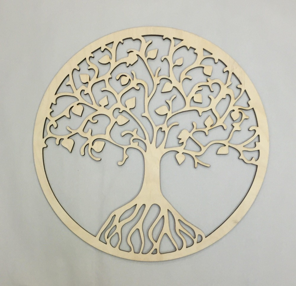 Tree Of Life Wall Decor For 2020 Rustic Wooden Tree Of Life Wall Decor, Party Photo Booth Props (Gallery 12 of 20)