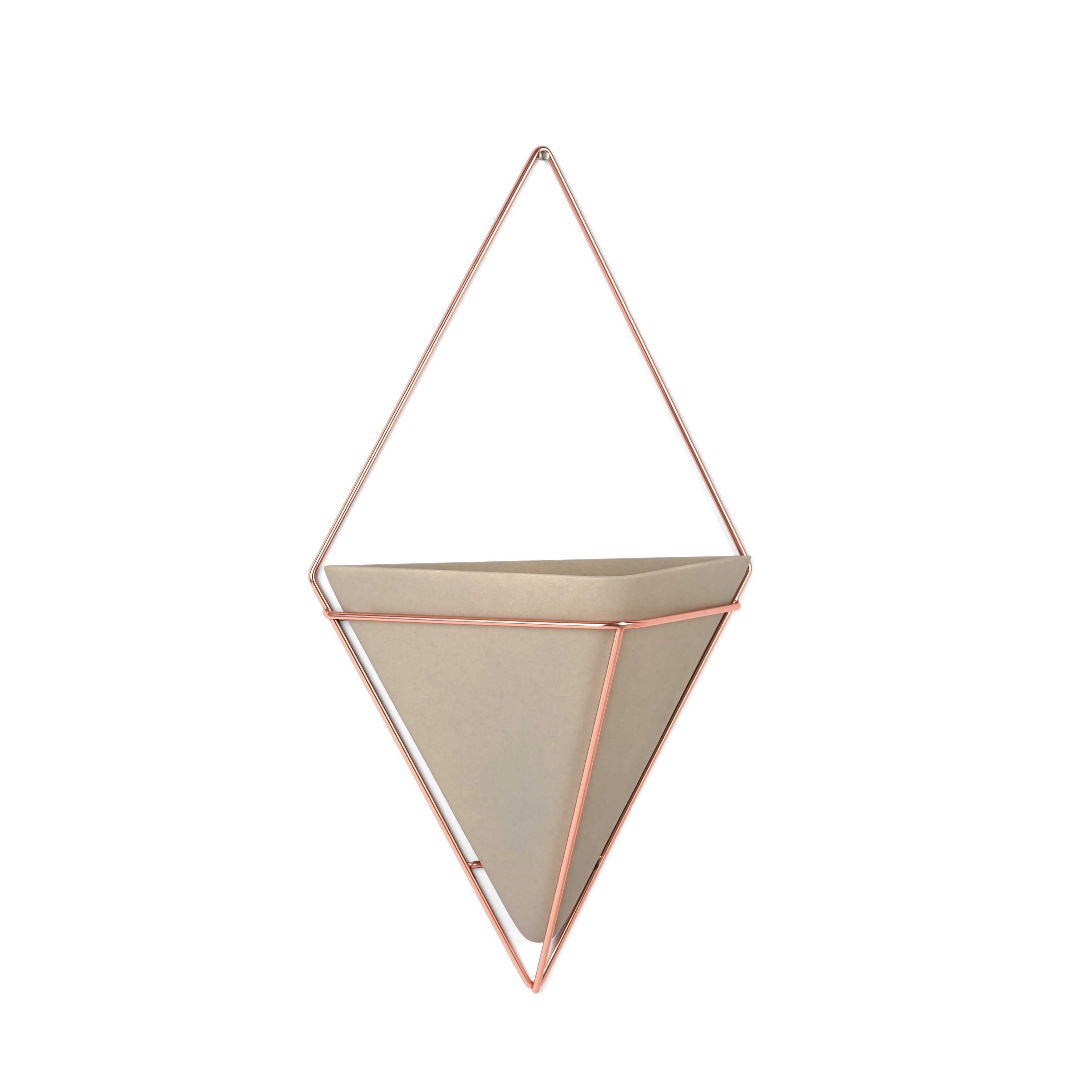 Trendy 2 Piece Trigg Wall Decor Sets (Set Of 2) Inside Shop Umbra Trigg Hanging Planter Vase & Geometric Wall Decor – Free (View 16 of 20)