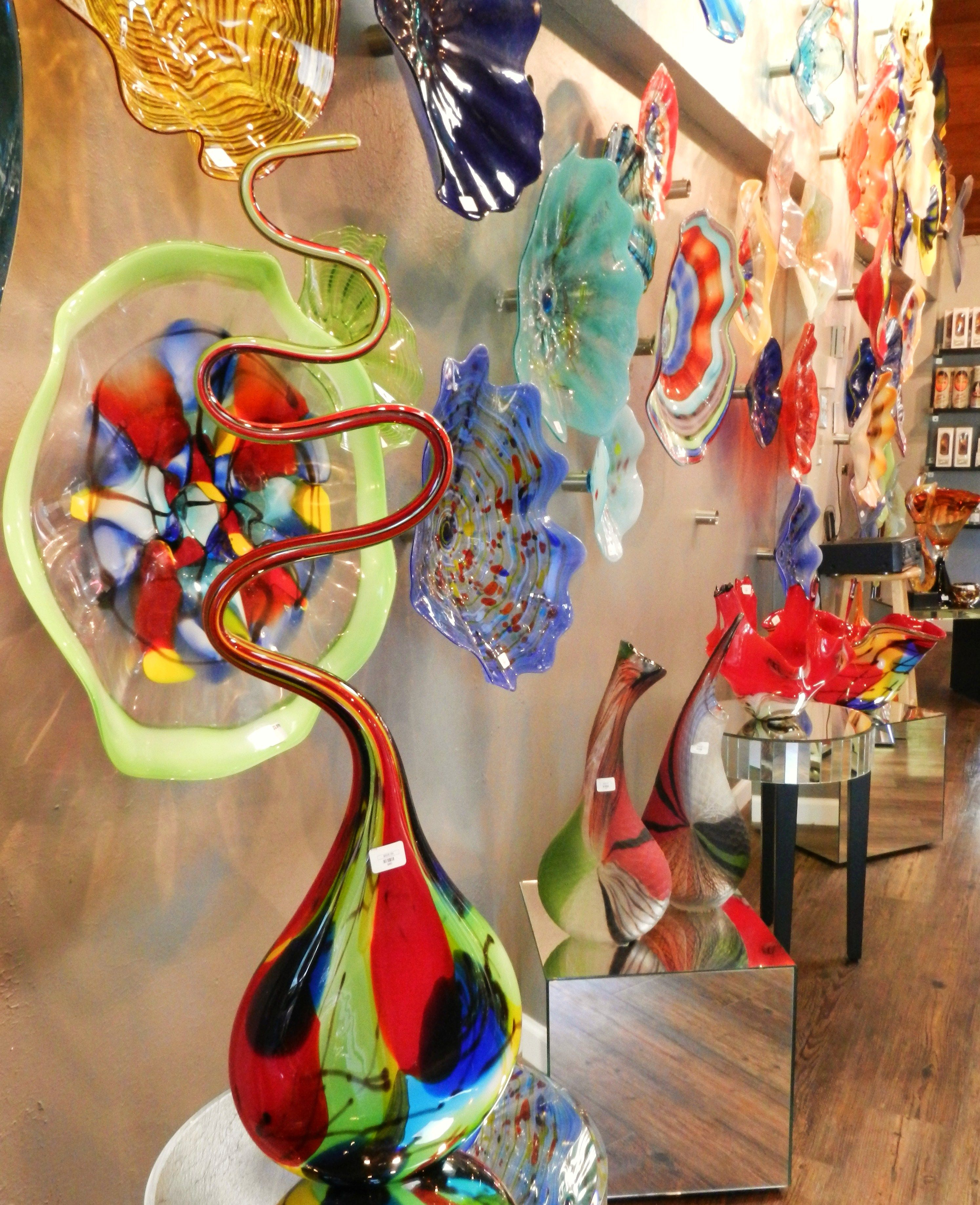 Vase And Bowl Wall Decor For Most Recent Our Unique Hand Blow Glass Wall Art And Vases Will Add Color And (Gallery 8 of 20)