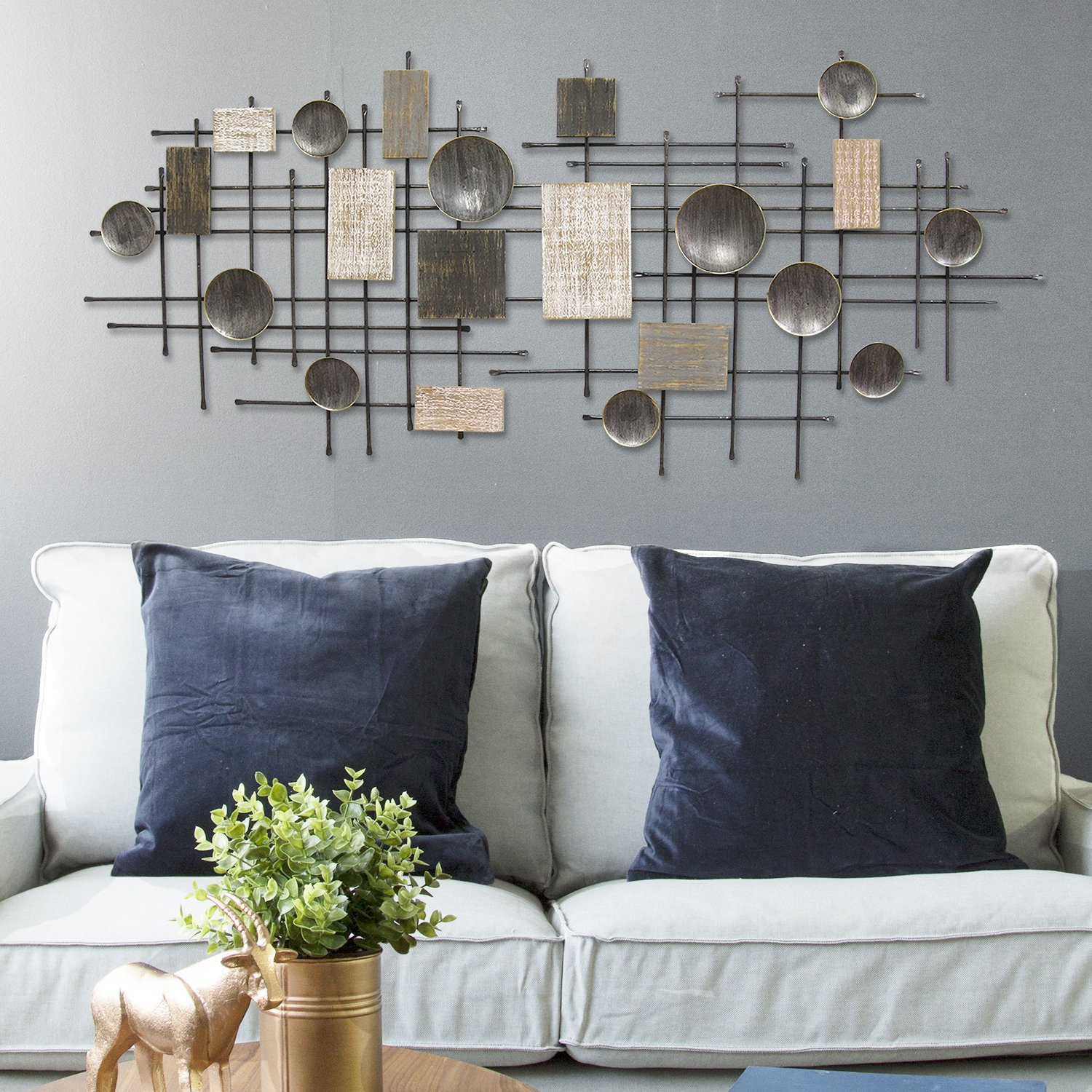 Featured Photo of Large Modern Industrial Wall Decor