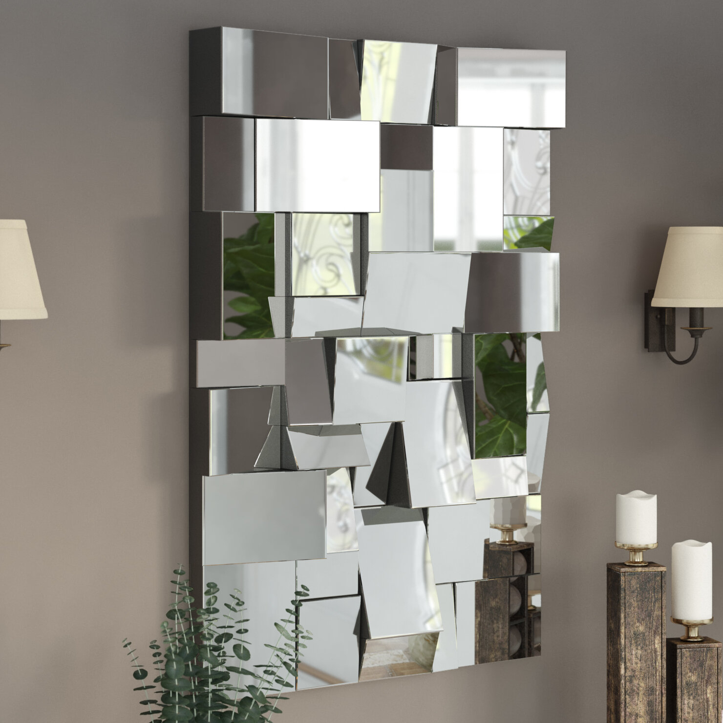 Featured Photo of Pennsburg Rectangle Wall Mirror