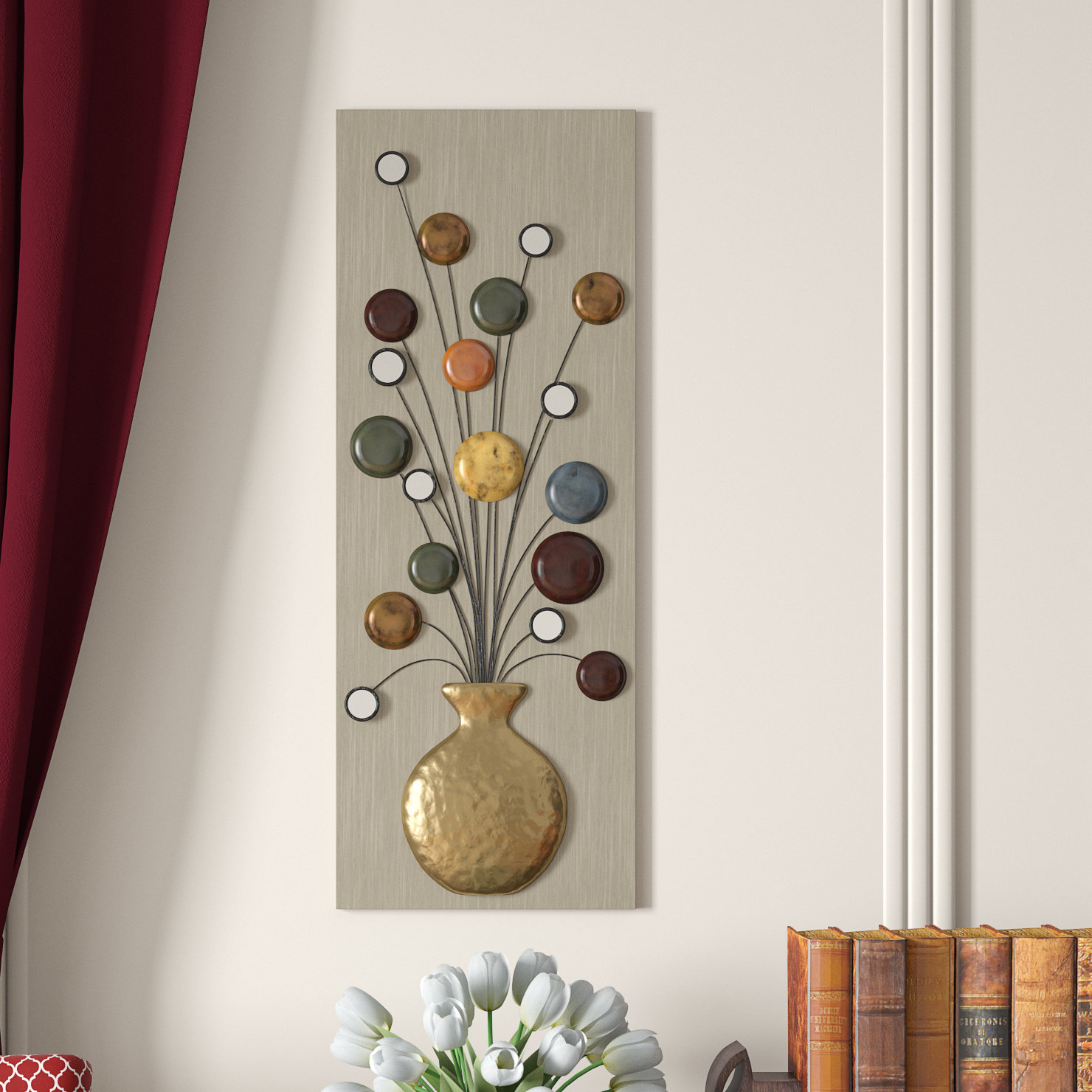 Wayfair For Famous Raheem Flowers Metal Wall Decor (View 10 of 20)