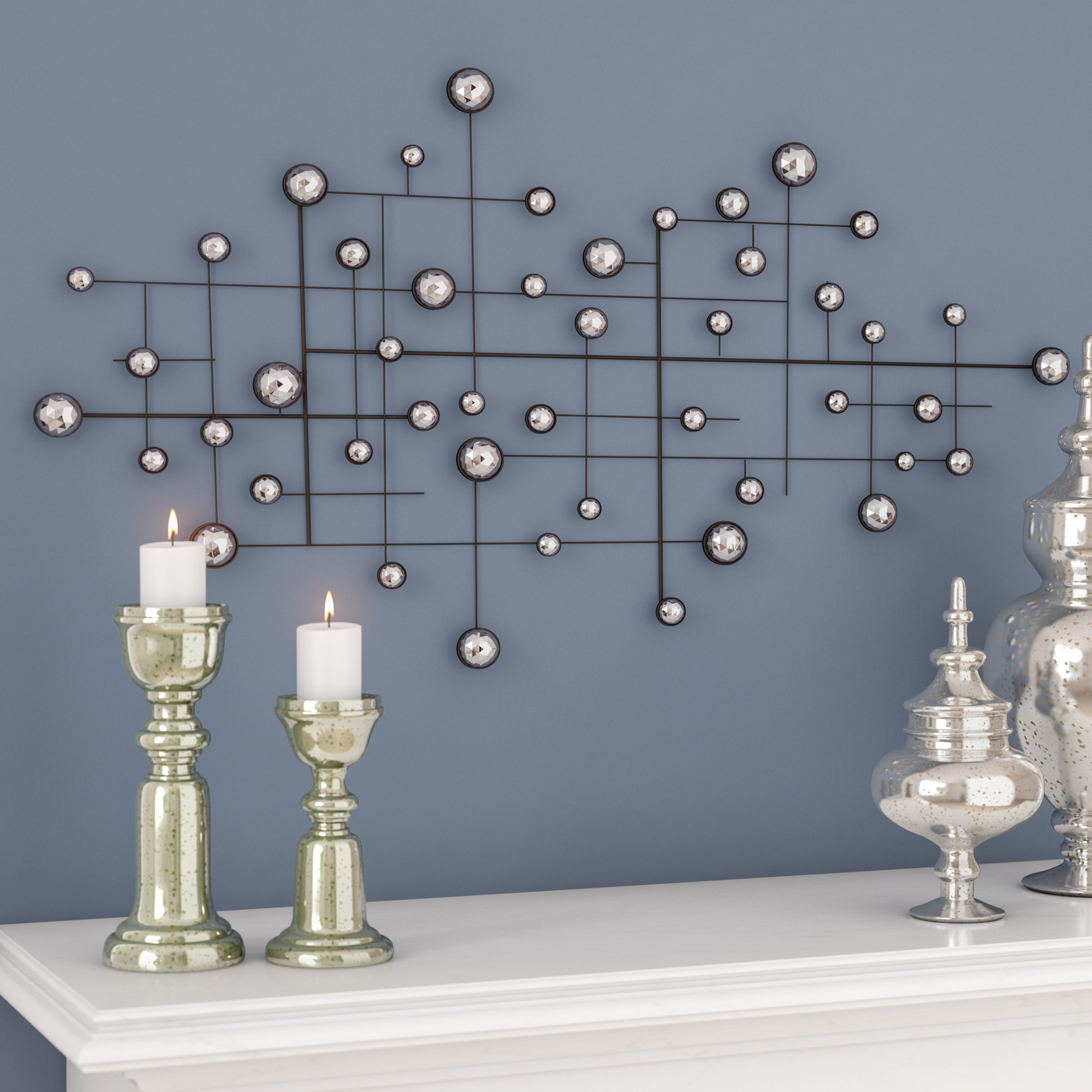 Wayfair For Most Recently Released Alvis Traditional Metal Wall Decor (View 17 of 20)