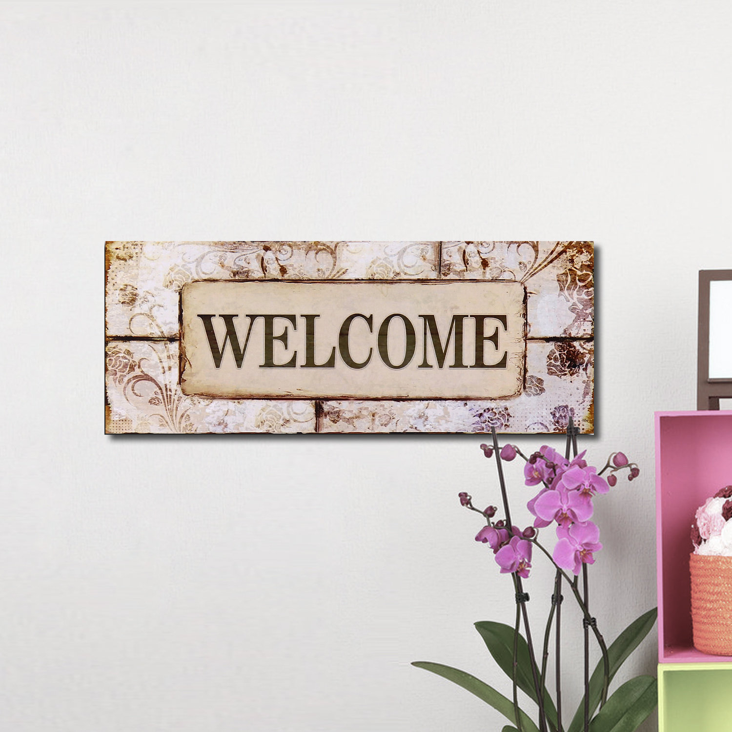 "Wayfair Intended For In A Word ""welcome"" Wall Decor (View 6 of 20)"