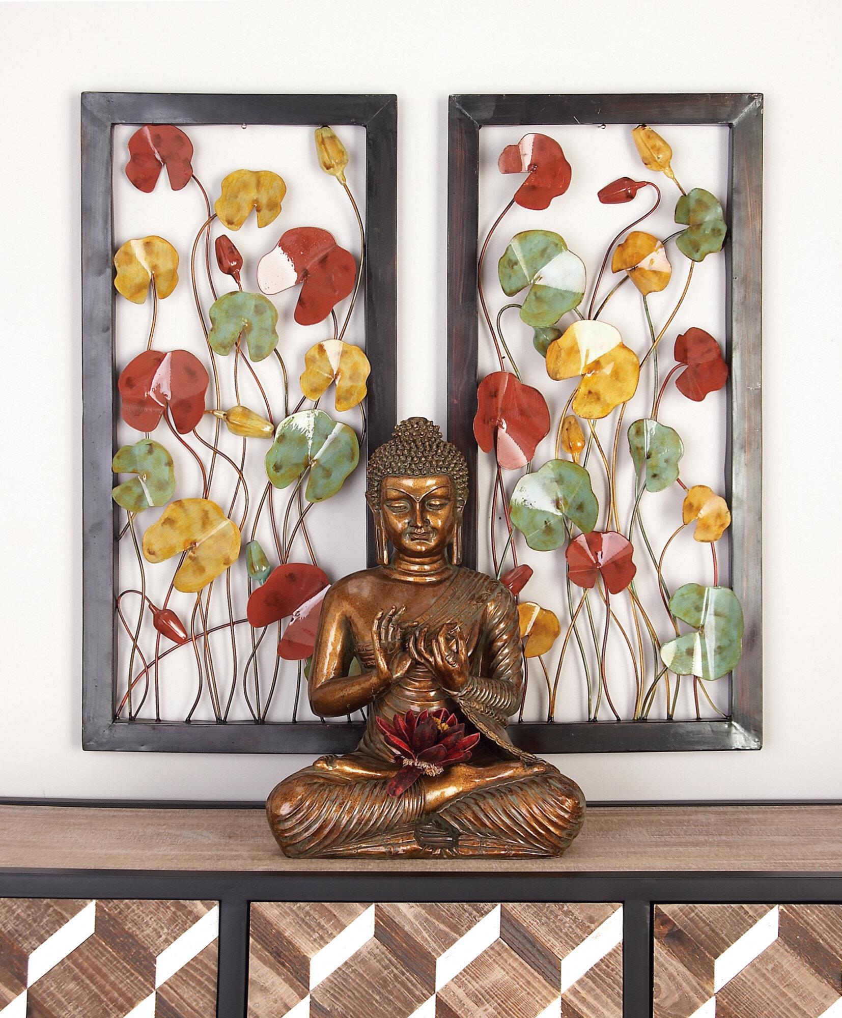 Wayfair Intended For Raheem Flowers Metal Wall Decor (View 16 of 20)