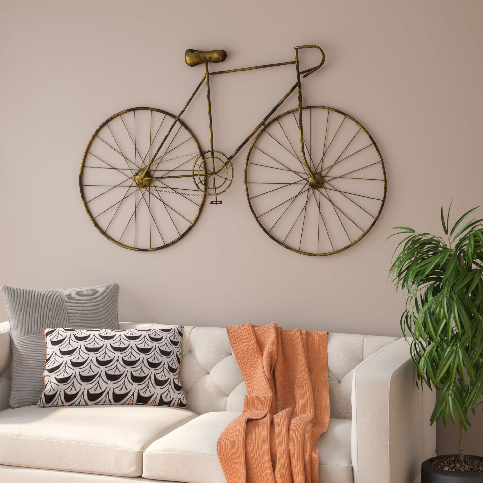Wayfair Pertaining To Most Recent Bike Wall Decor (View 18 of 20)