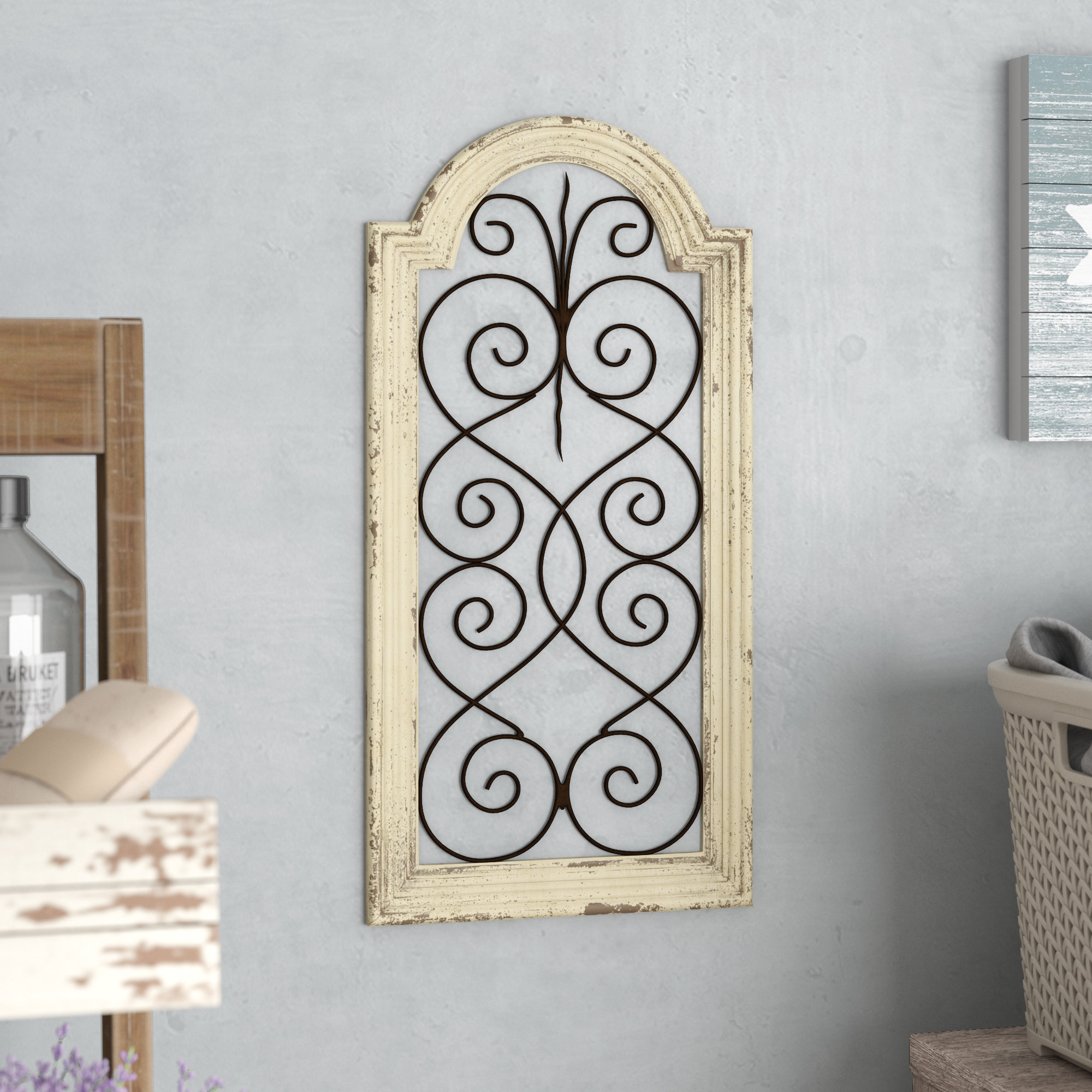 Wayfair Throughout 4 Piece Metal Wall Plaque Decor Sets (Gallery 20 of 20)