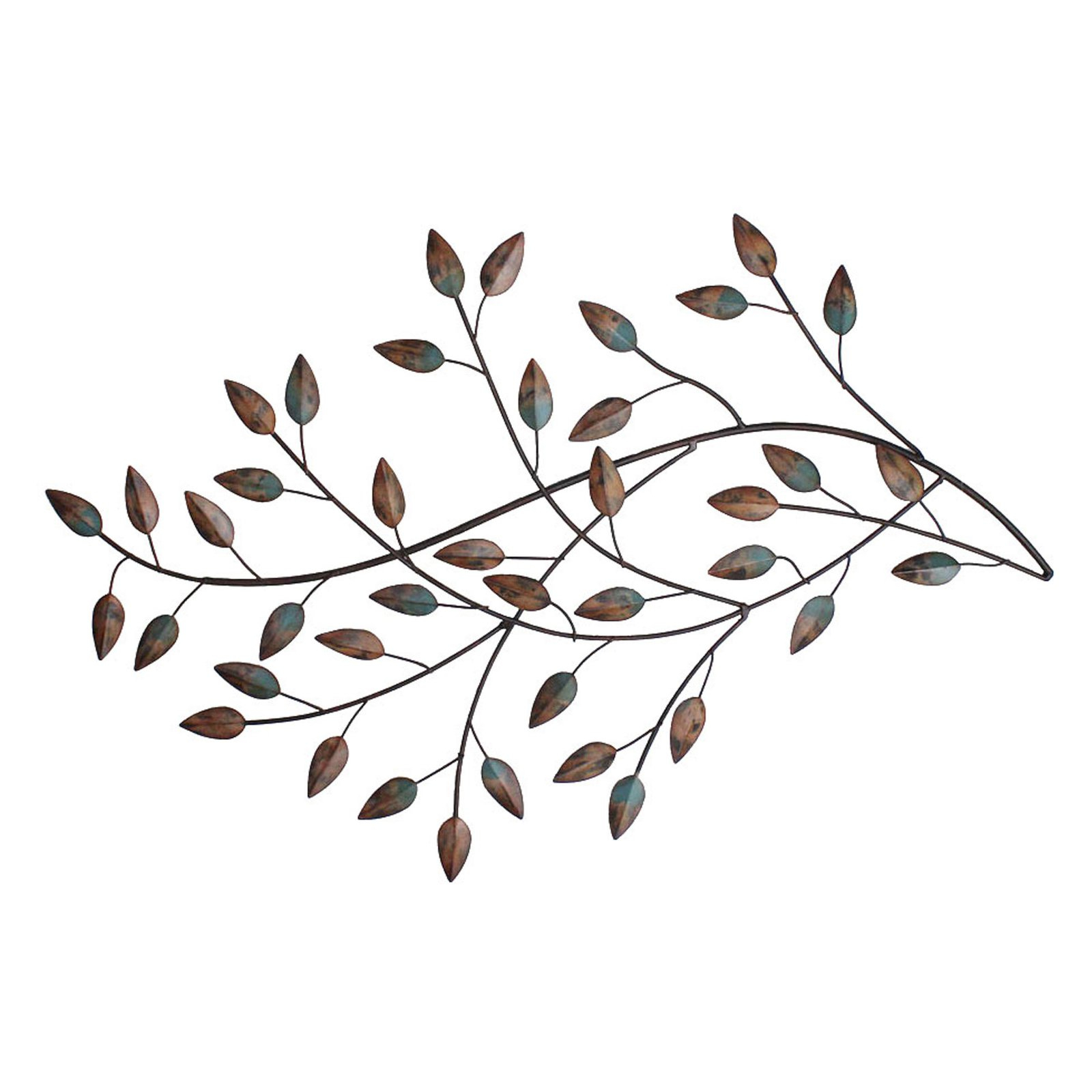 Well Known Blowing Leaves Wall Decor With Regard To Stratton Home Decor Blowing Leaves Wall Decor – Walmart (Gallery 2 of 20)
