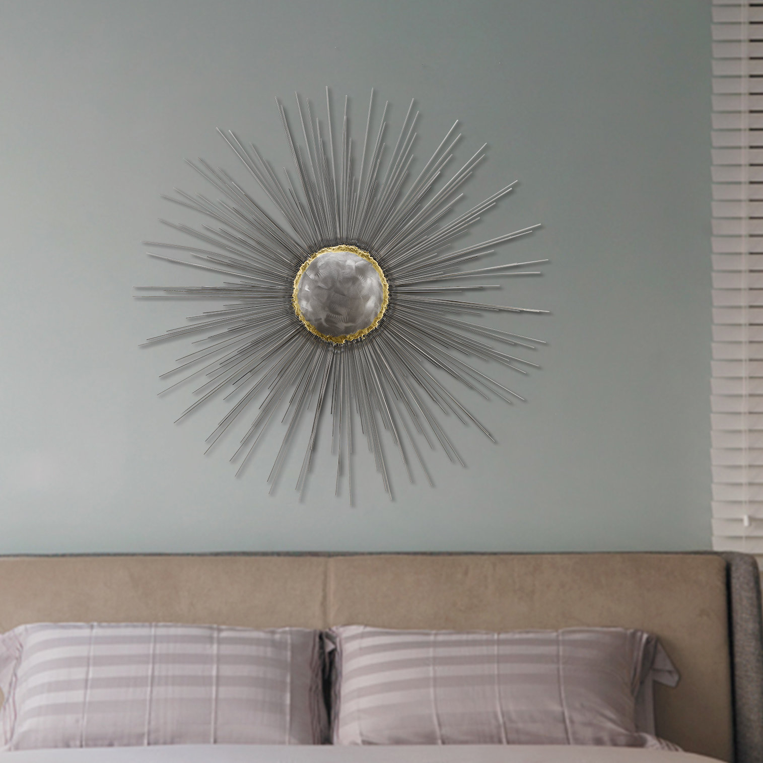 Well Known Everly Quinn Starburst Wall Décor & Reviews (View 17 of 20)