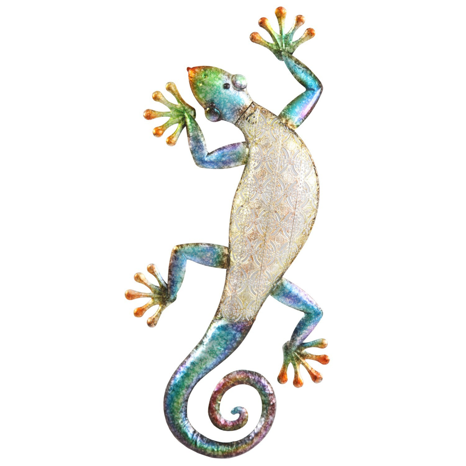Well Known Gecko Wall Decor Throughout Gecko Metal Wall Art (View 19 of 20)