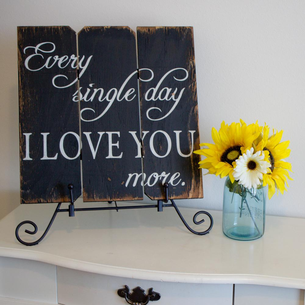 Well Known 'love You More' Wood Wall Decor Within 106 In. X 16 In (View 19 of 20)