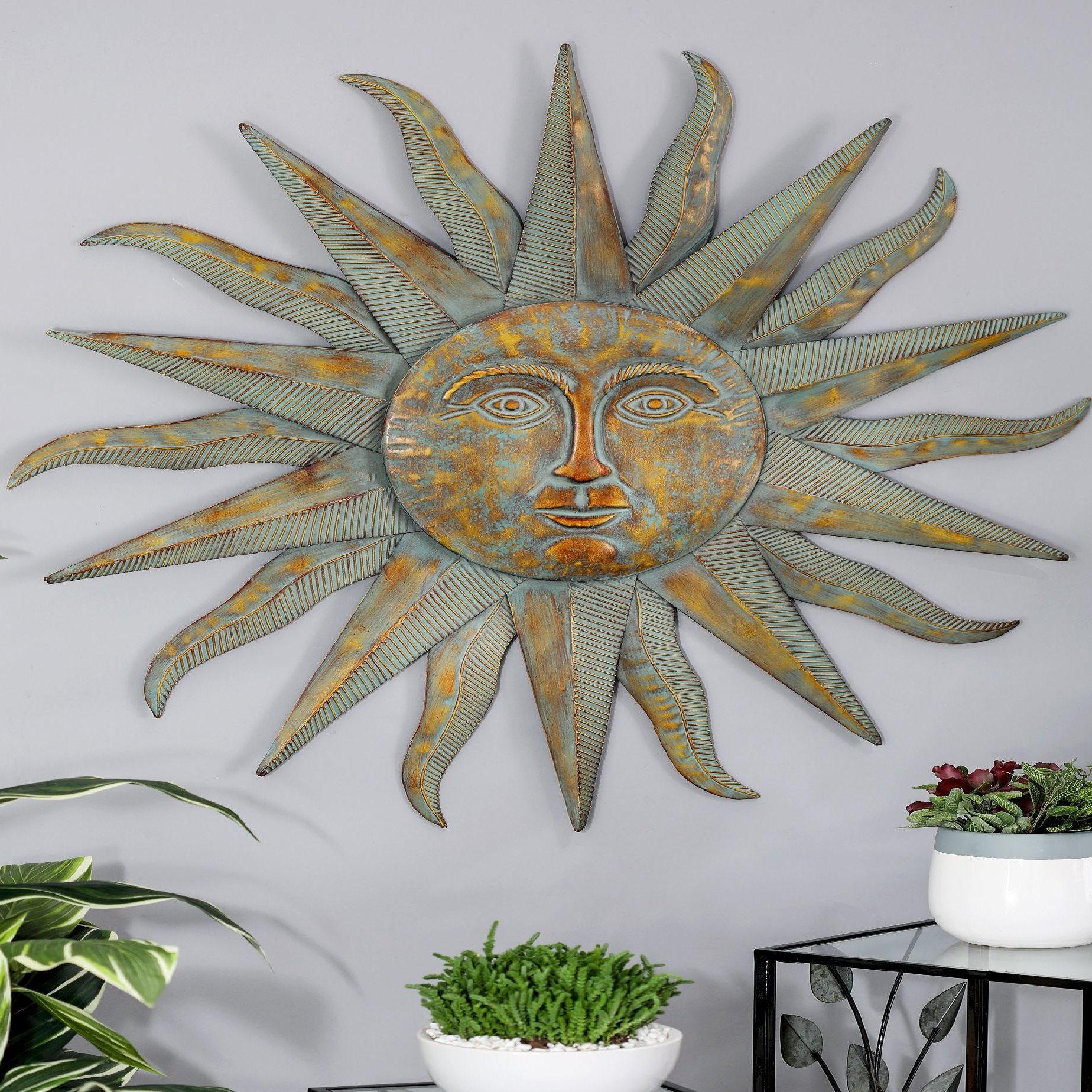 Well Known Recycled Moon And Sun Wall Decor In Bloomsbury Market Modern Sun Inspired Wall Decor & Reviews (View 20 of 20)