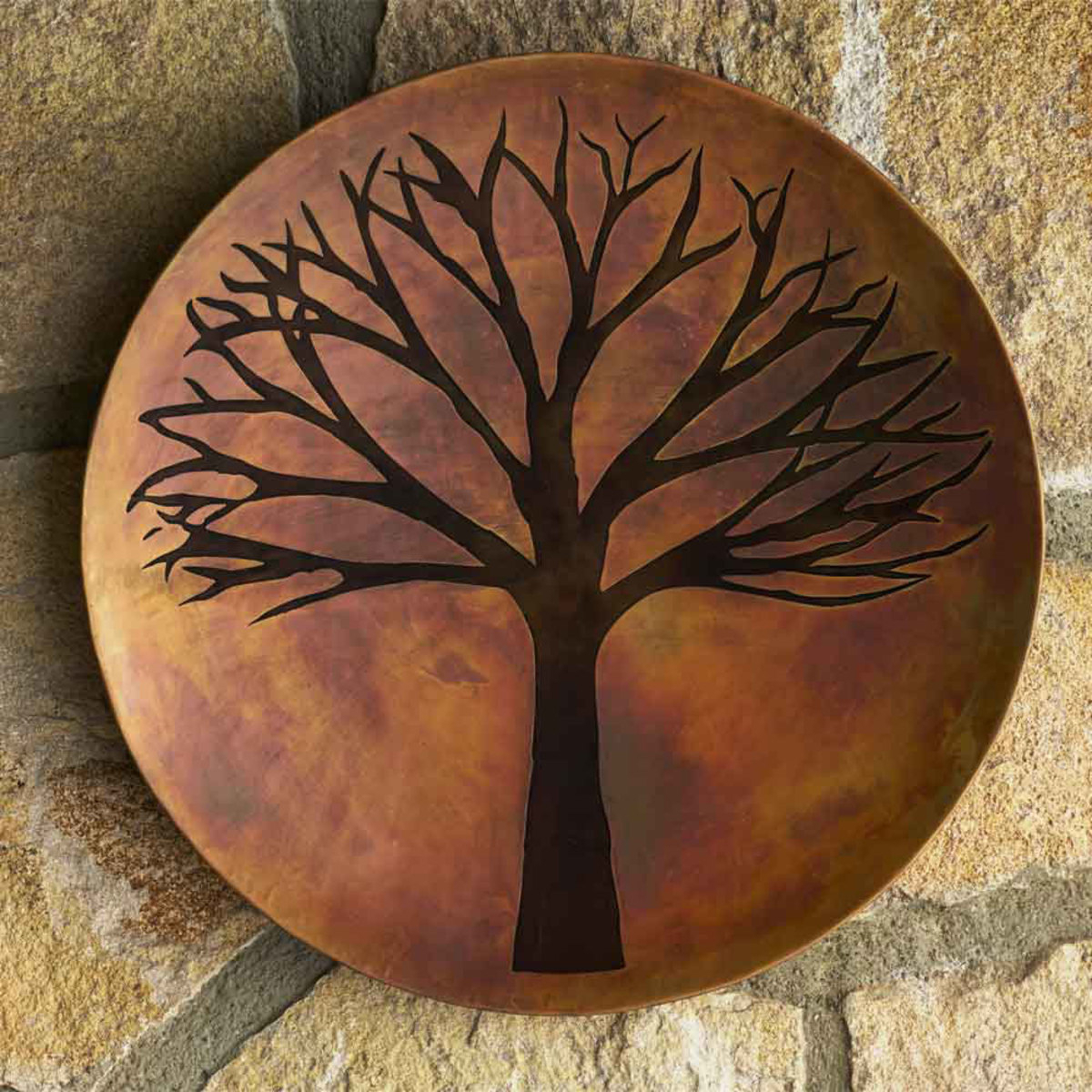 Well Known Tree Of Life Wall Decor Intended For Copper Finish Tree Of Life Wall Art (View 19 of 20)