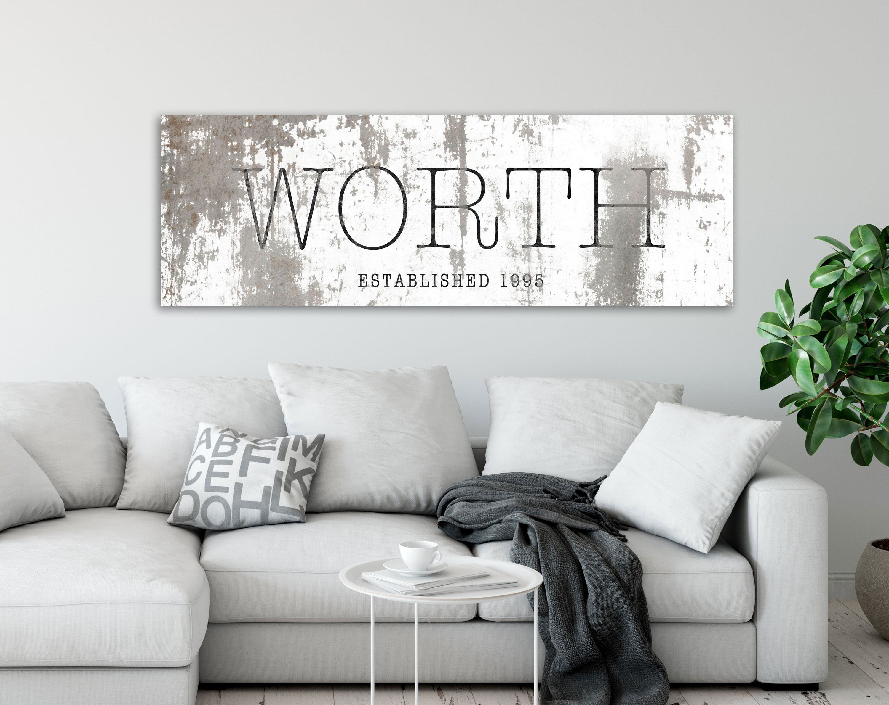 Well Liked Farmhouse Family Wall Art Industrial Modern Decor Large (View 19 of 20)