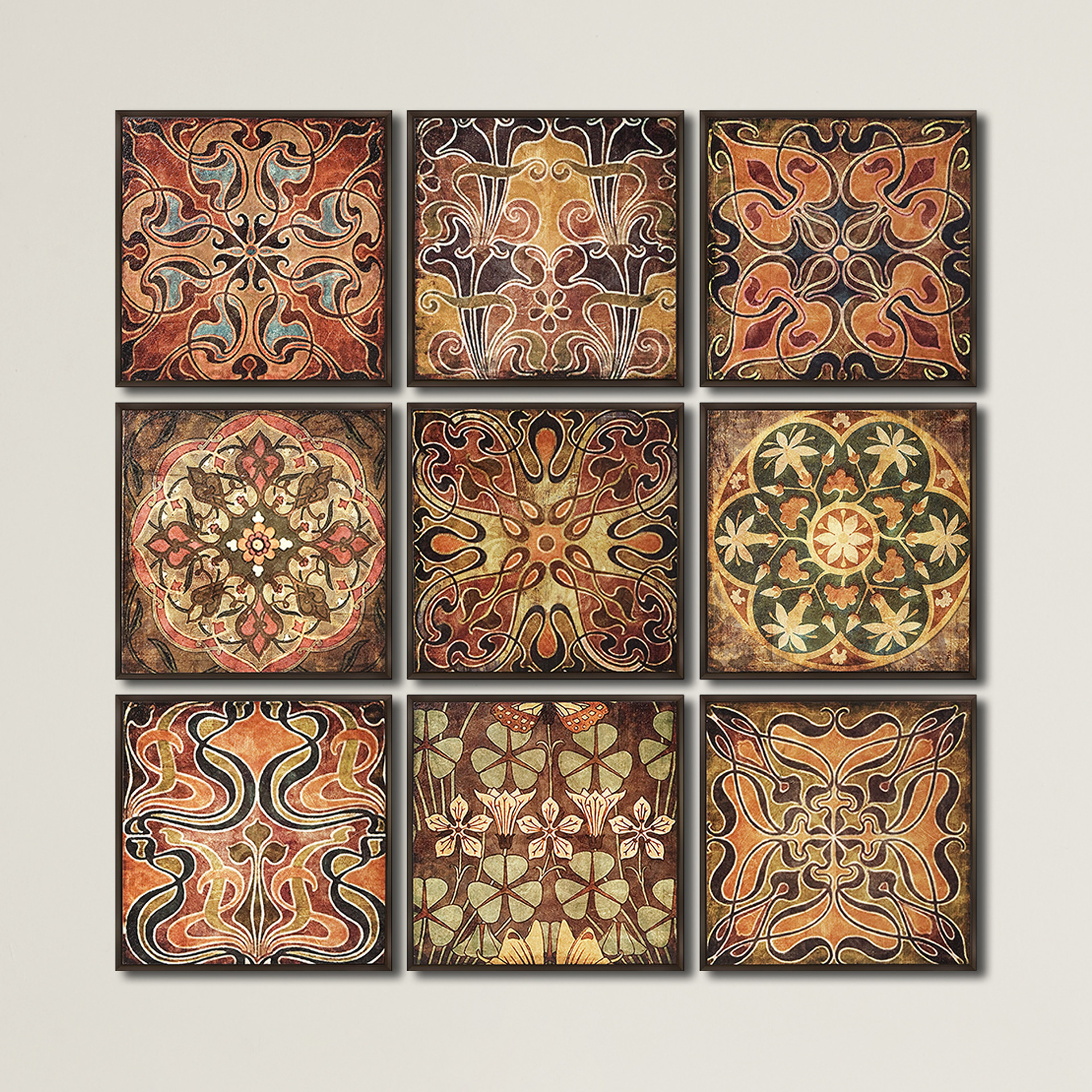 Well Liked Mariposa 9 Piece Wall Decor Pertaining To 9 Piece Wall Art – Pmpresssecretariat (Gallery 9 of 20)