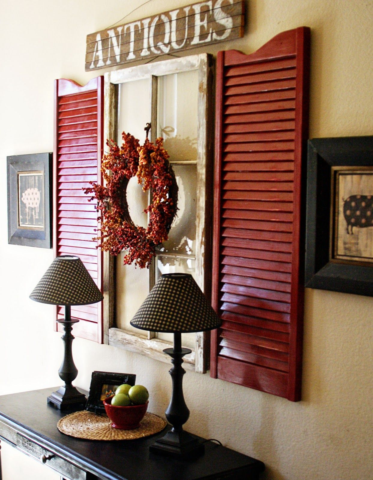 Widely Used 10 Great Ideas For Decorating Ideas For Shutters (Gallery 7 of 20)