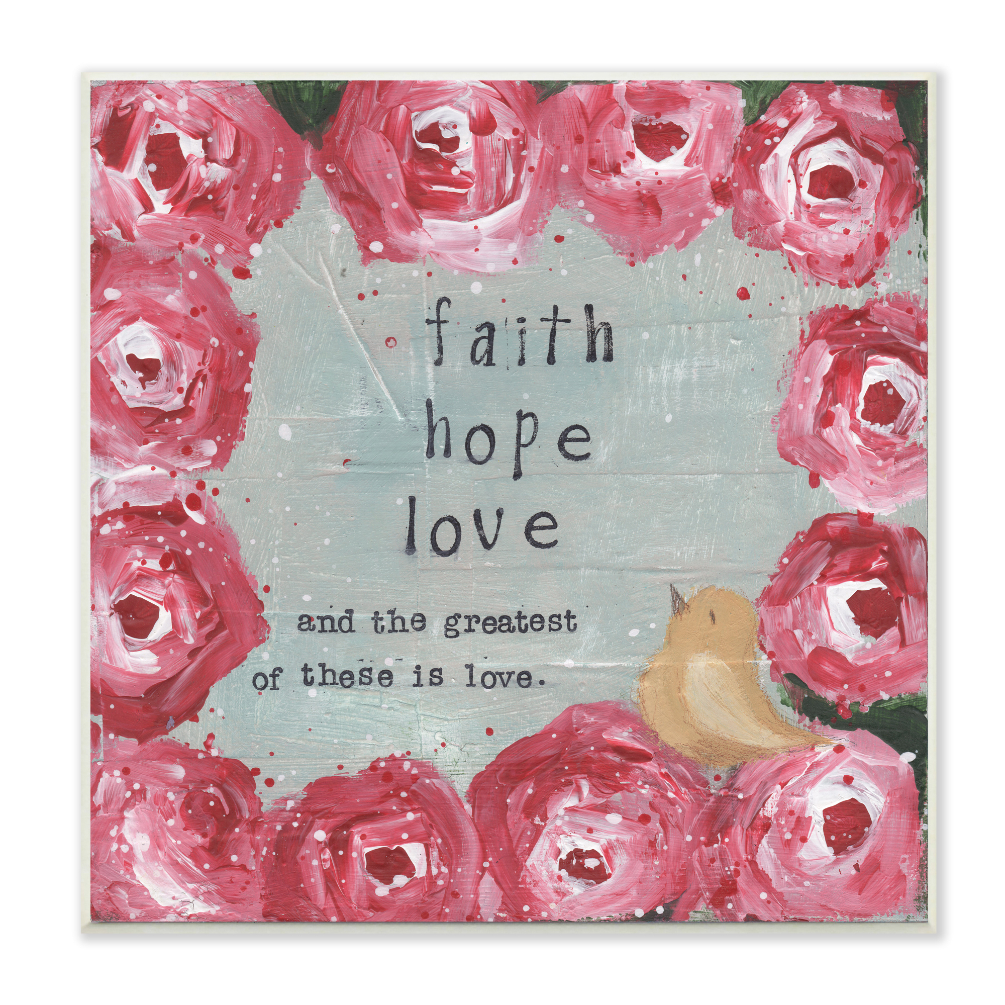Widely Used Faith, Hope, Love Raised Sign Wall Decor Pertaining To Stupell Home Decor Collection (View 20 of 20)