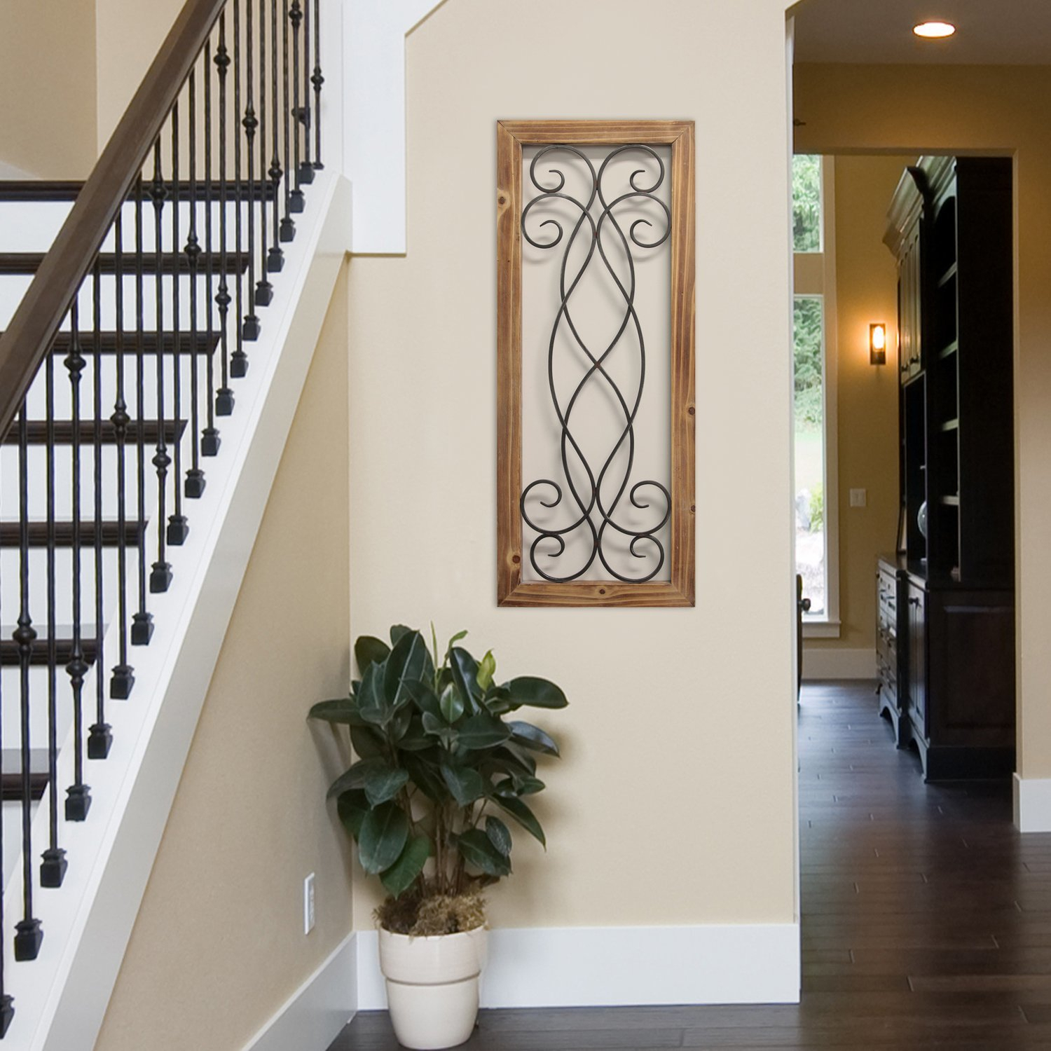 Widely Used Winston Porter Scroll Panel Wall Décor (View 9 of 20)