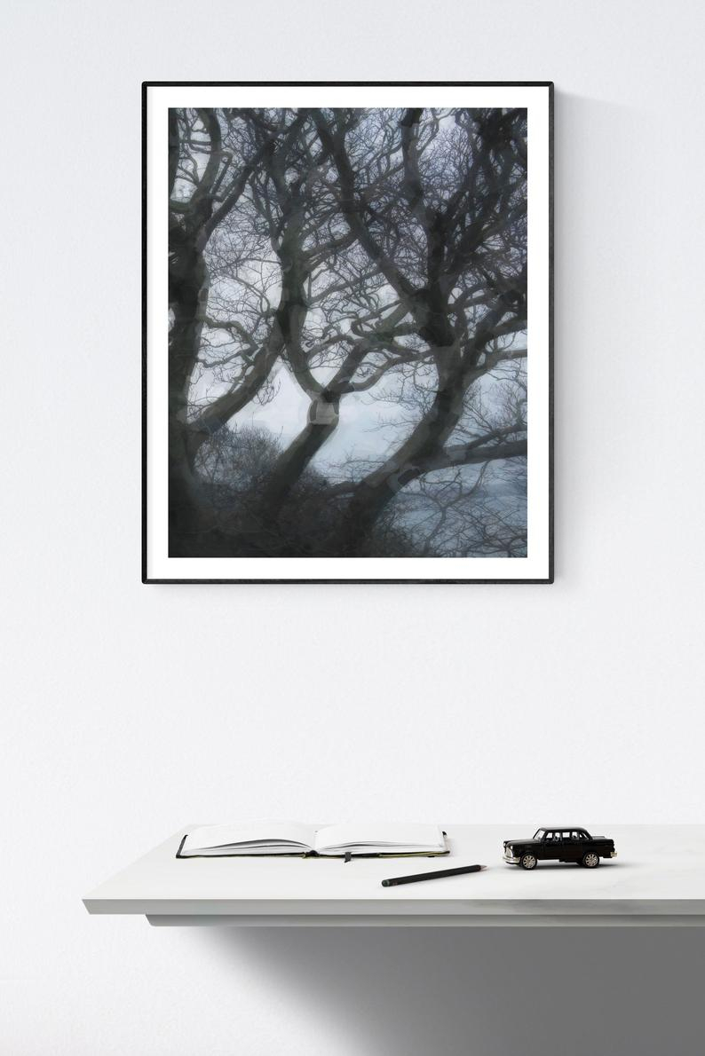 Windswept Trees : Printable Wall Art (View 3 of 20)