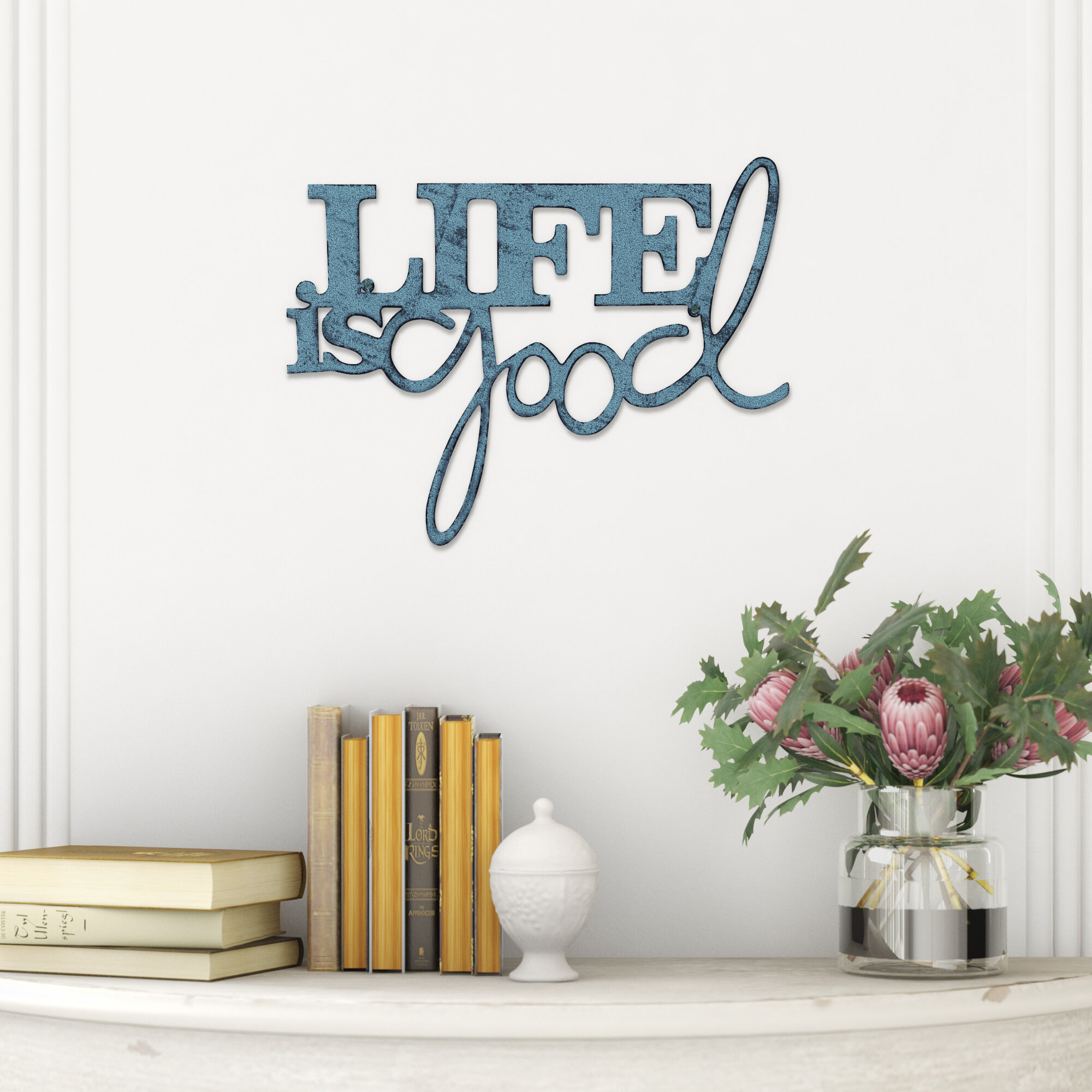 Winston Porter Life Is Good Metal Wall Décor & Reviews (View 7 of 20)