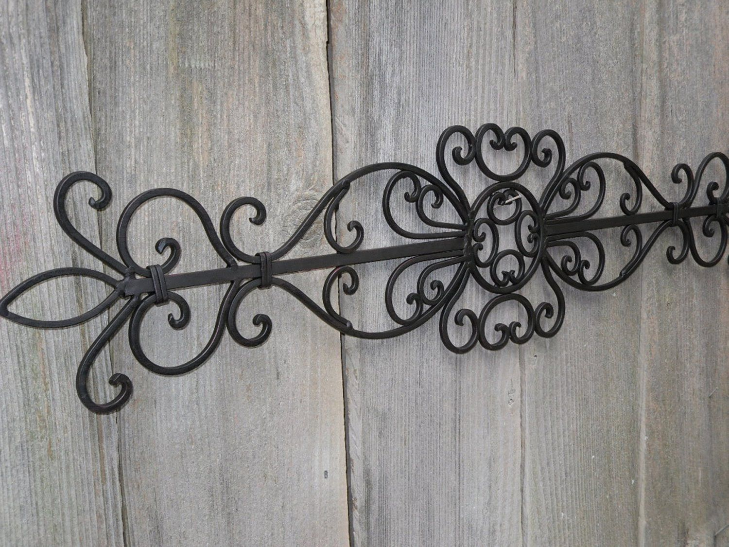 Wrought Iron Wall Decor (Gallery 4 of 20)