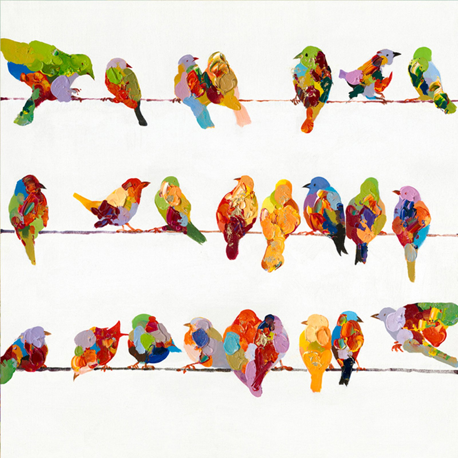 Yosemite Home Decor Birds On A Wire Ii Wall Art – Walmart In Well Known Birds On A Wire Wall Decor (View 13 of 20)