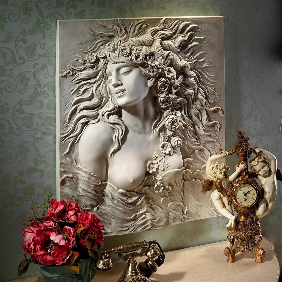 2020 Dance Of Desire Wall Decor Pertaining To Shop Design Toscano Shakespeare's Ophelia's Desire Wall Sculpture (Gallery 5 of 20)