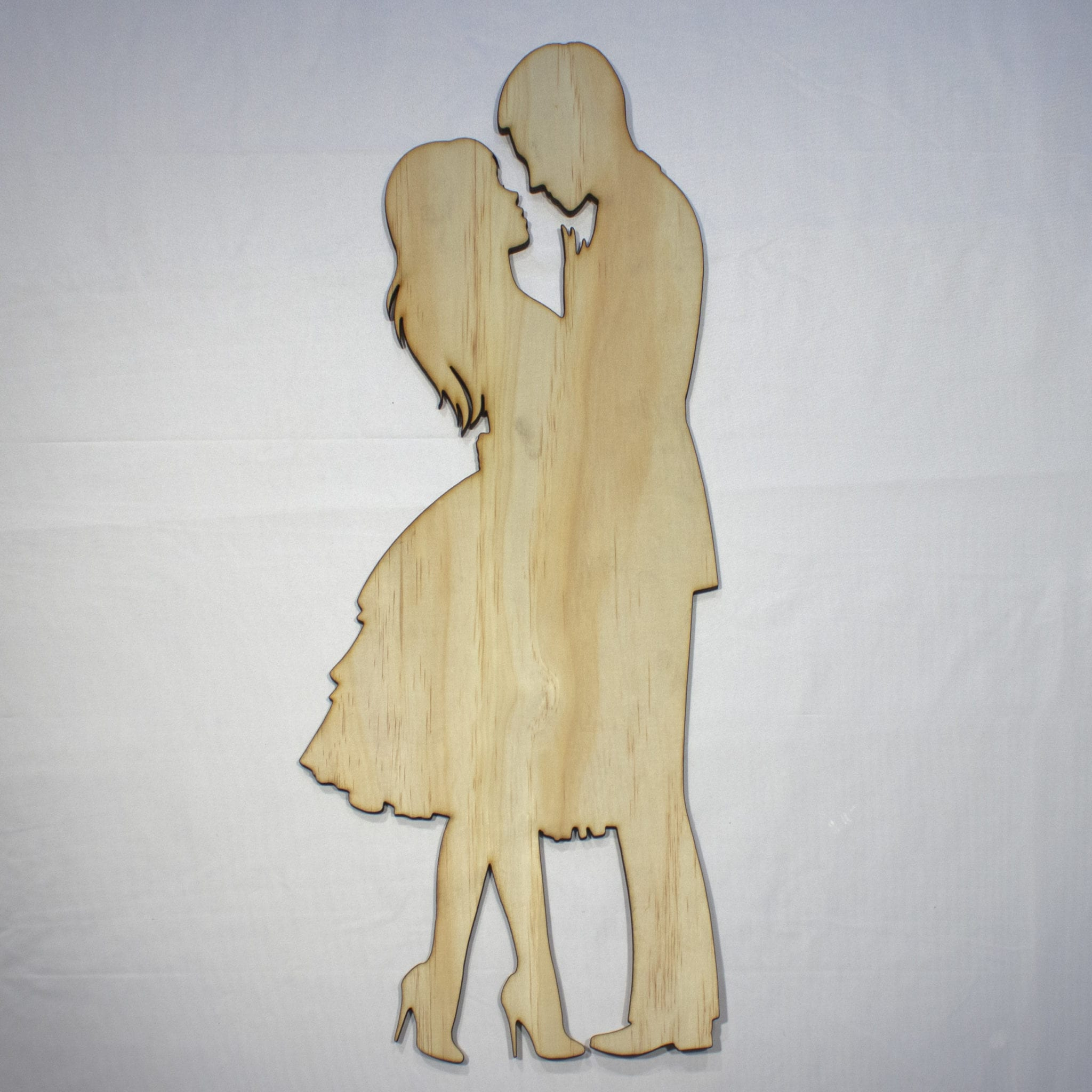 2020 Dancing Couple In Love 22In Tall Laser Cut Wood Silhouette Wall Art Within Let Whatever You Do Today Be Enough Wood Wall Decor (Gallery 14 of 20)