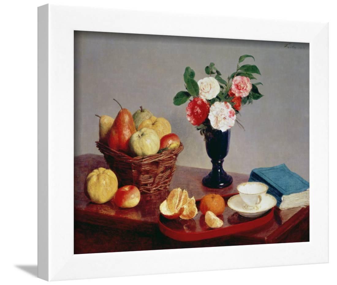 2020 Latour Wall Decor In Still Life, 1866 Framed Print Wall Arthenri Fantin Latour – Walmart (View 11 of 20)