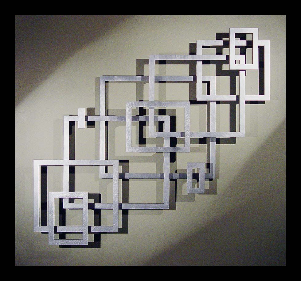 2020 Metal Universal Wall Decor In Great Layout Inspiration For A Geometric Empty Frame Collage (View 15 of 20)