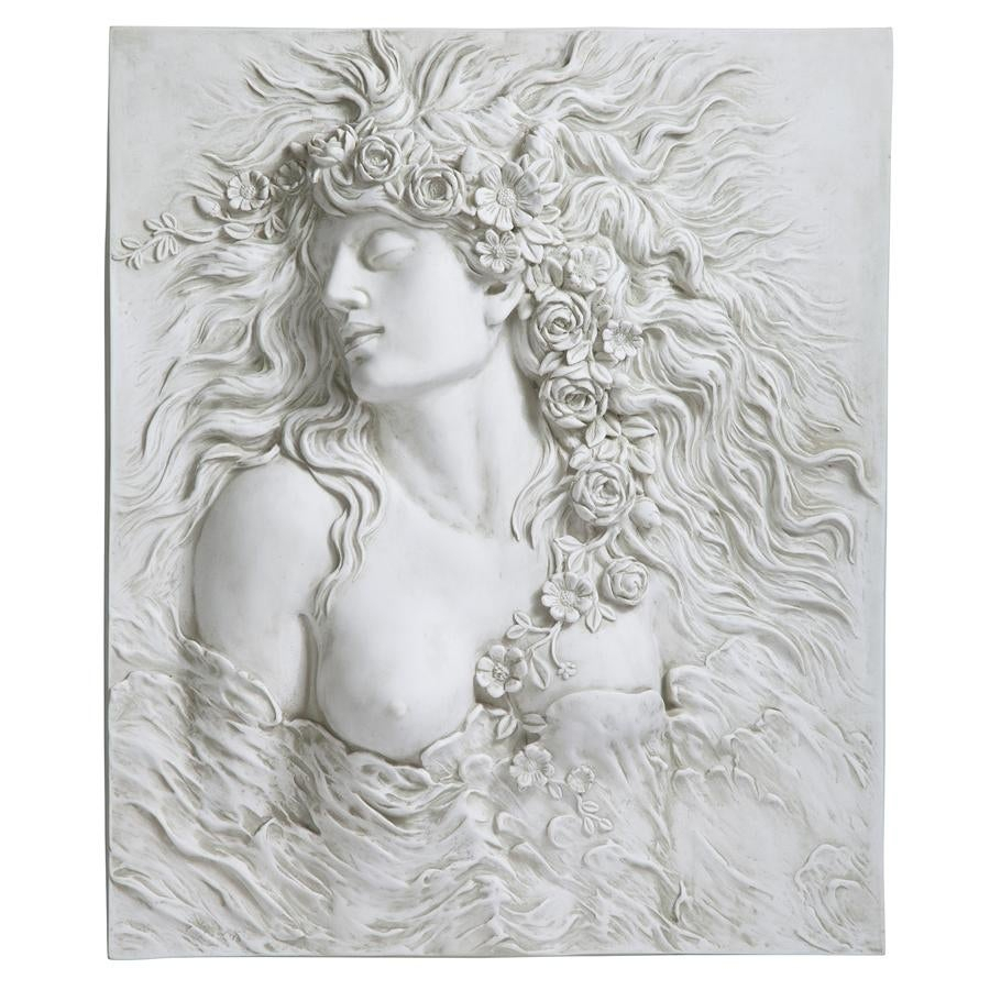 2020 Shop Design Toscano Shakespeare's Ophelia's Desire Wall Sculpture In Dance Of Desire Wall Decor (View 3 of 20)
