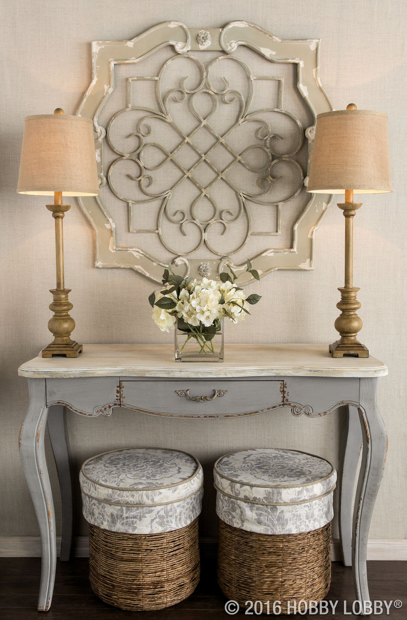 Add Architectural Elegance To Your Entryway With This Stunning Wall With Well Known Shabby Medallion Wall Decor (View 7 of 20)