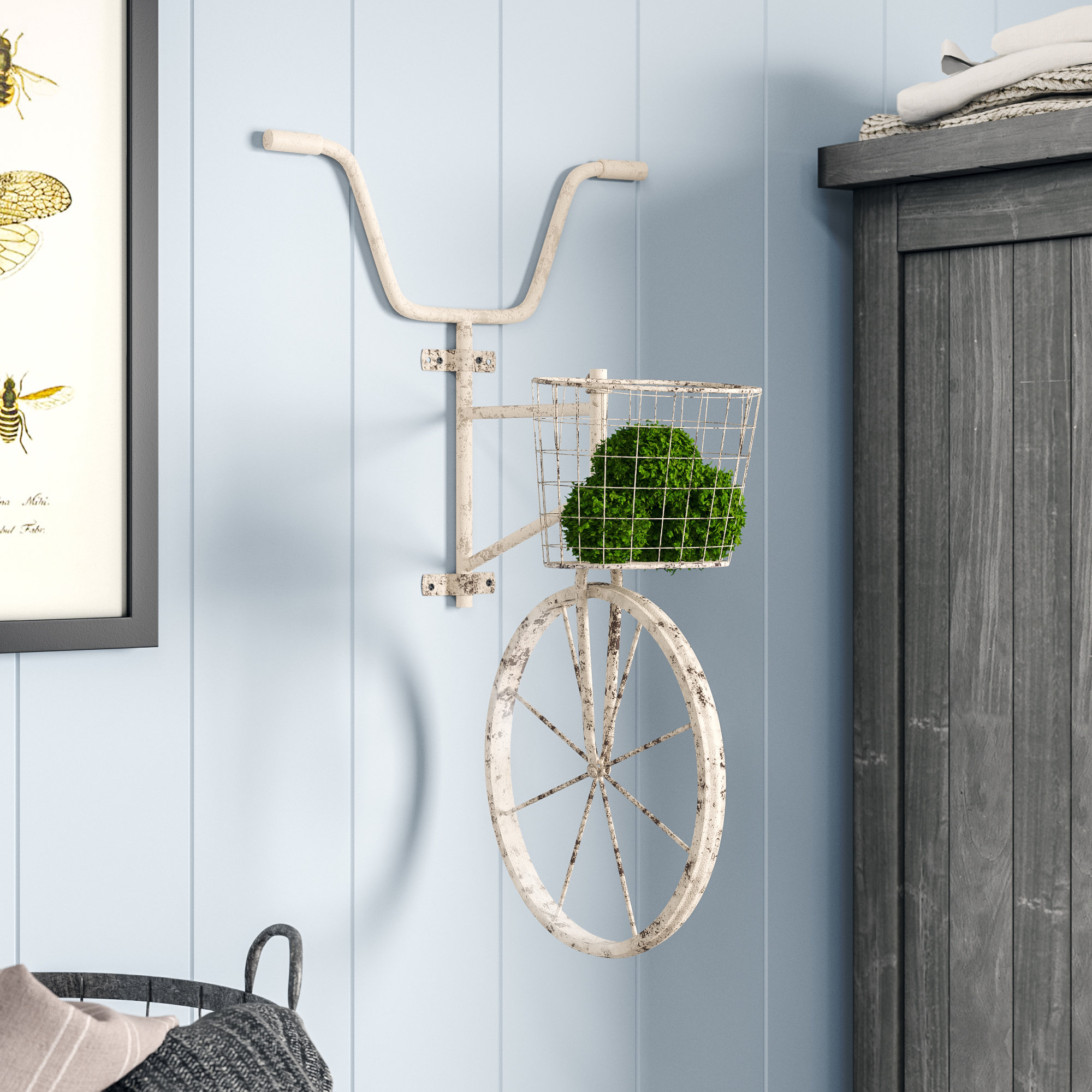 August Grove Metal Bicycle Wall Décor & Reviews