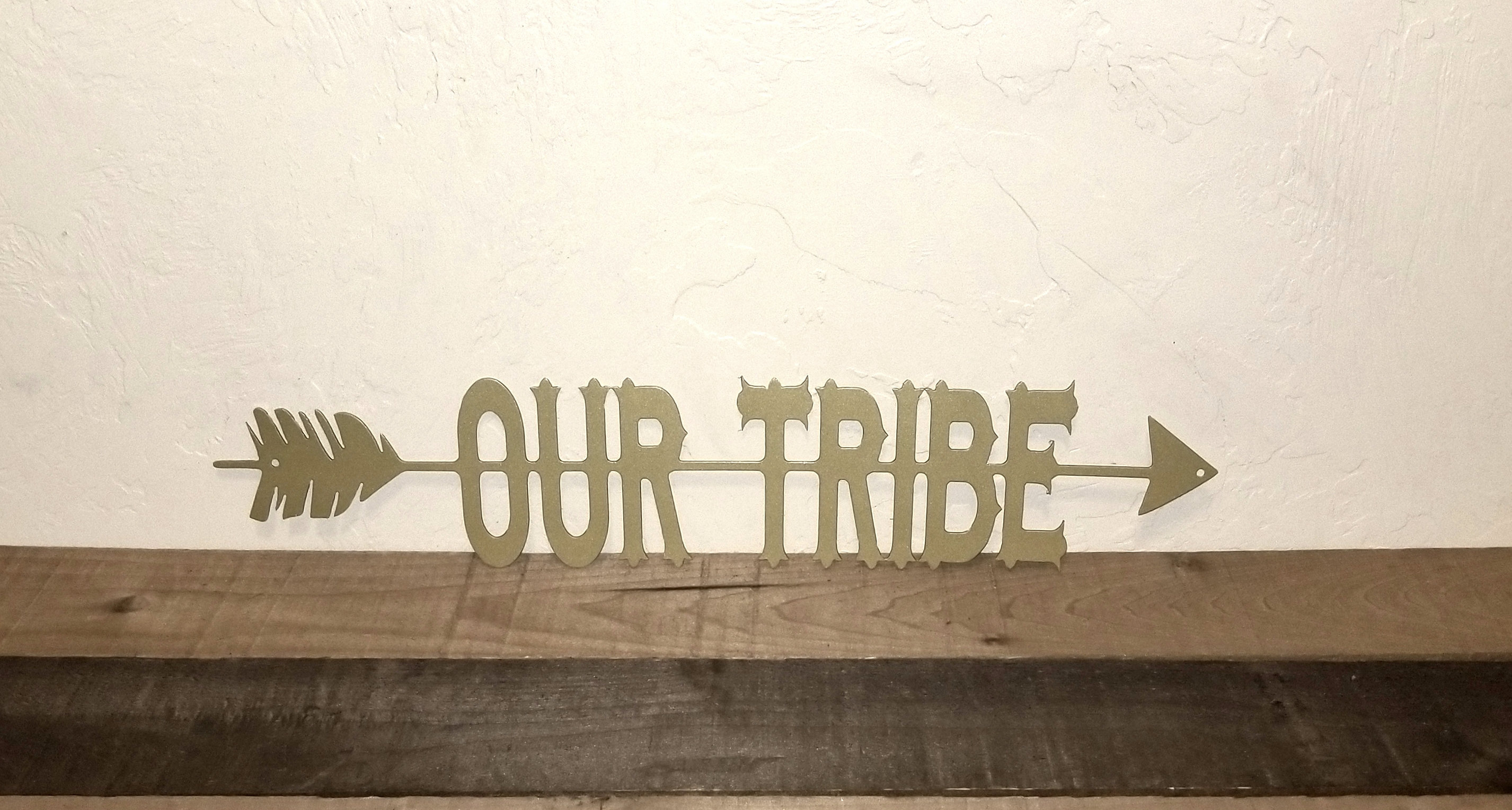 Best And Newest Our Tribe Sign Arrow Wall Decor Arrow Wall Art Split Arrow (View 7 of 20)