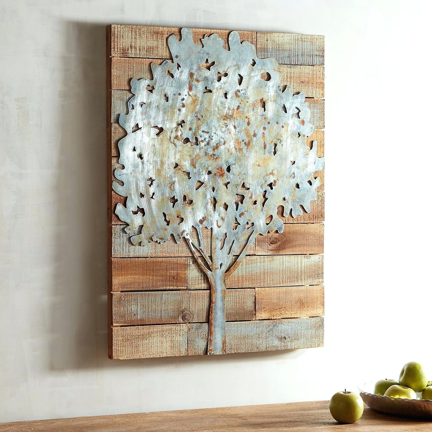 Best And Newest Wall Decor Tree Home Metal Of Life – Tannerphan Throughout Windswept Tree Wall Decor By World Menagerie (View 4 of 20)