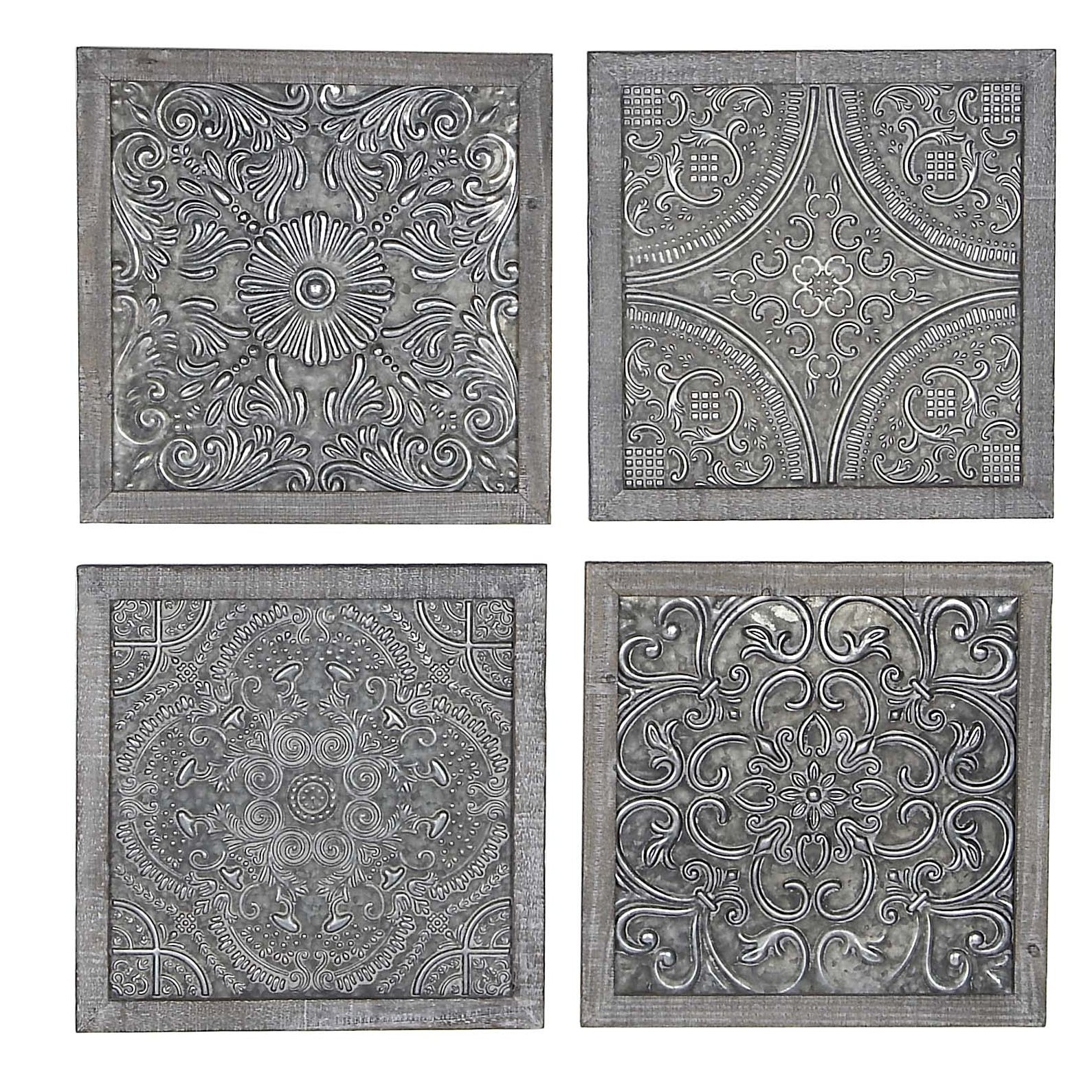 Bungalow Rose 4 Piece Wall Decor Set & Reviews (View 18 of 20)