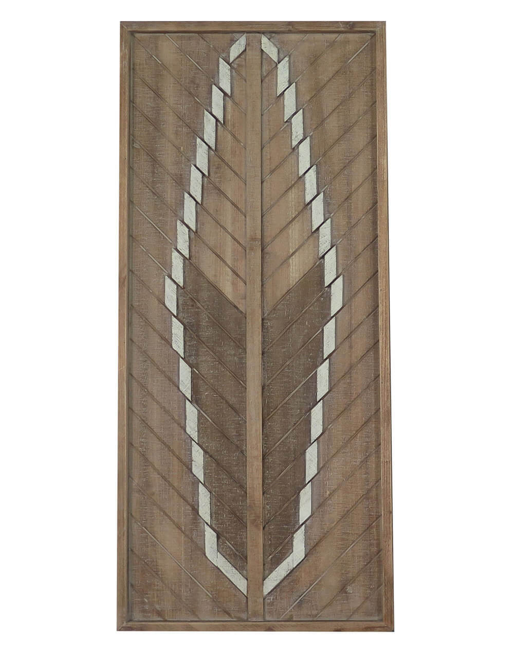 Buy Arrow Feather Detail Large Frame Wall Tribal Art Decor With Regard To Well Known Brown Metal Tribal Arrow Wall Decor (Gallery 17 of 20)