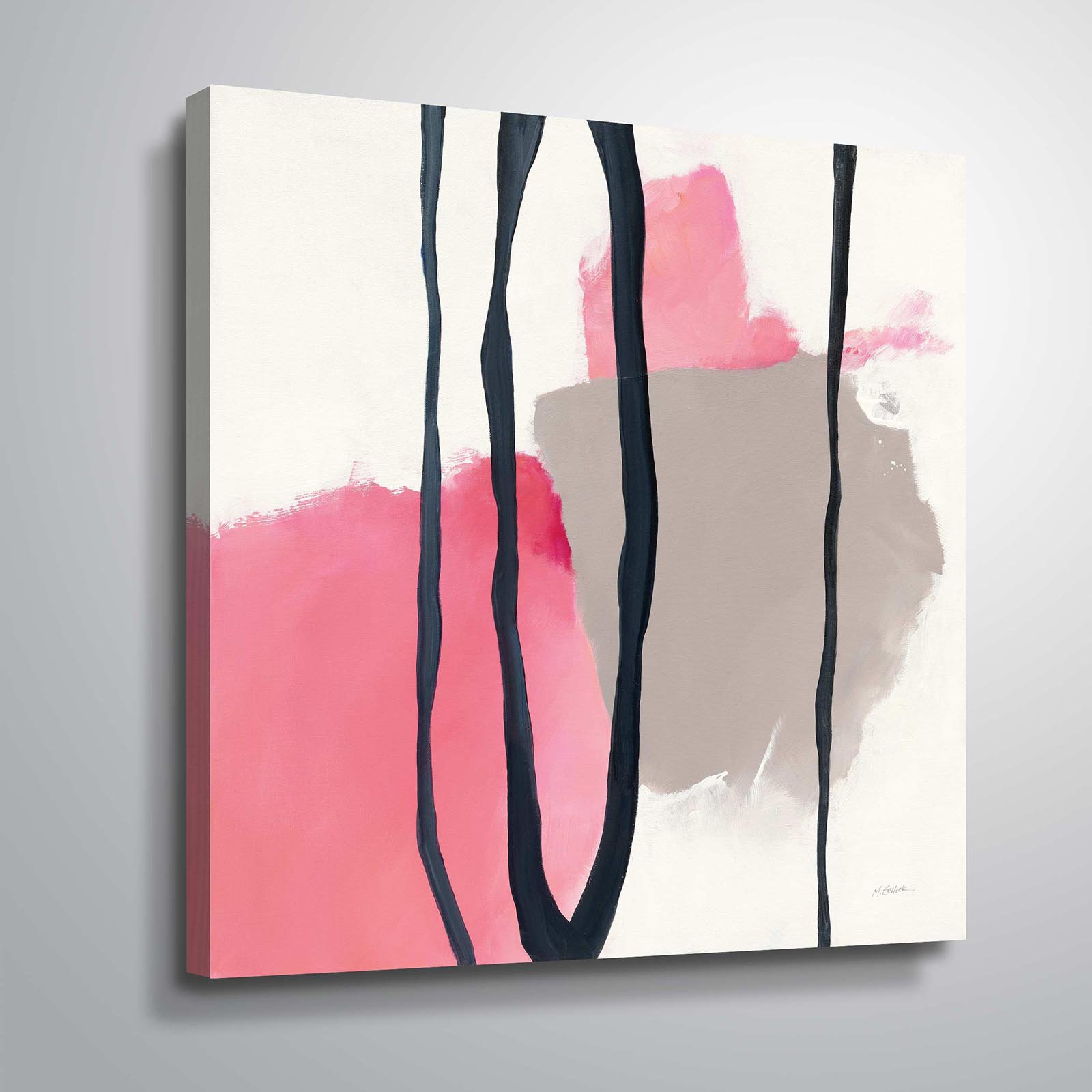 Canvas Within Newest Raheem Flowers Metal Wall Decor By Alcott Hill (View 4 of 20)