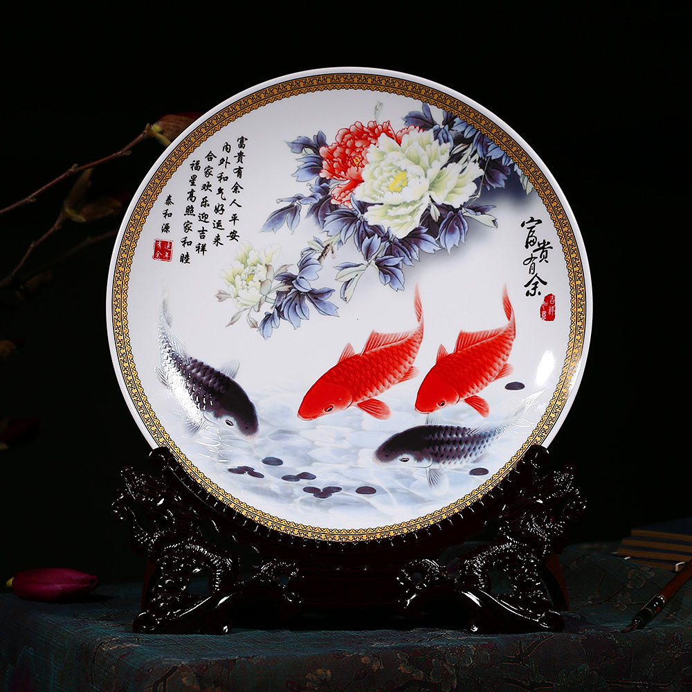 China Hanging Ceramic Fish, China Hanging Ceramic Fish Shopping Intended For 2020 Ceramic Blue Fish Plate Wall Decor (Gallery 20 of 20)