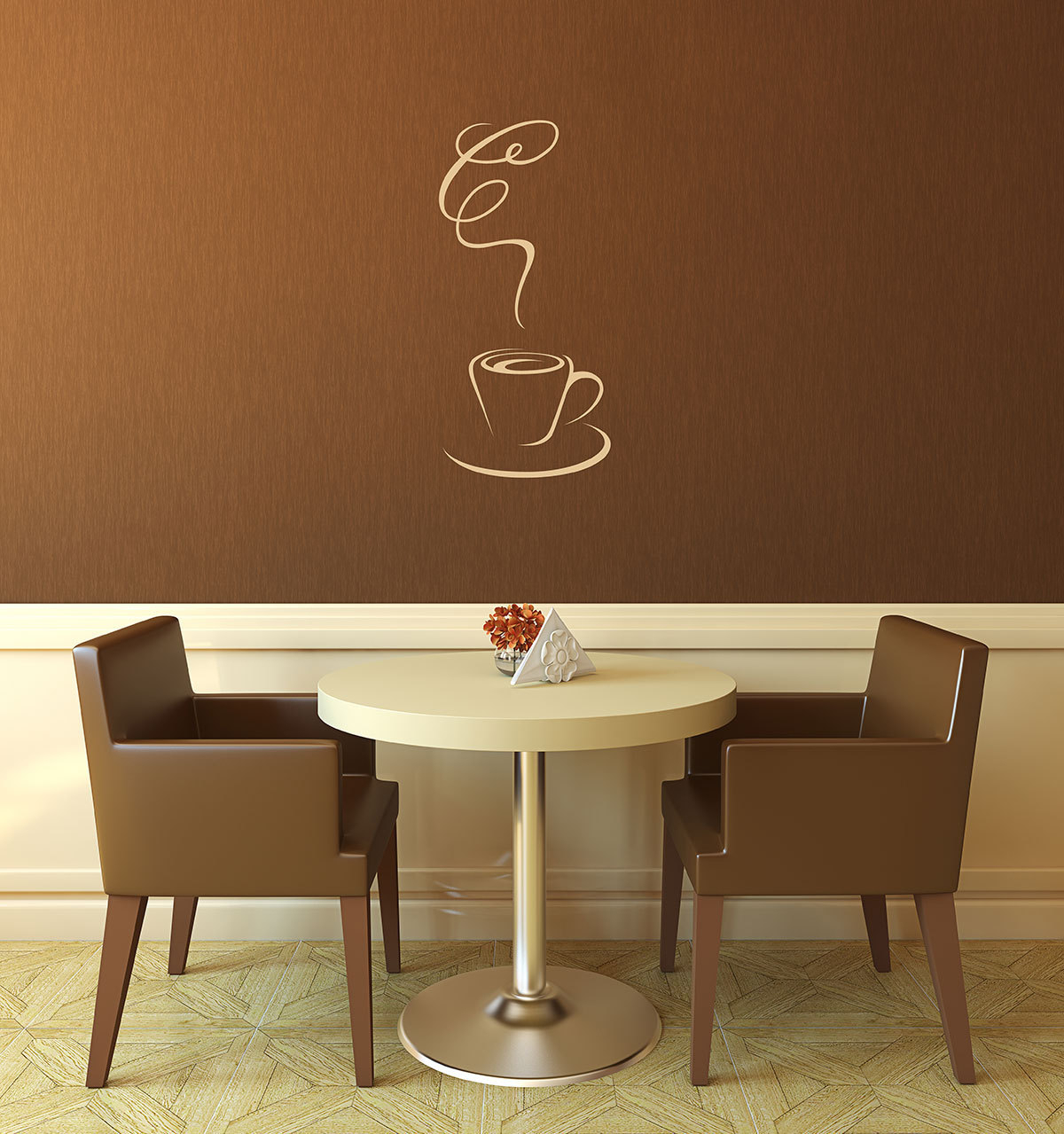 Coffee Wall Decal Coffee Shop Coffee Lover Kitchen Wall (Gallery 5 of 20)