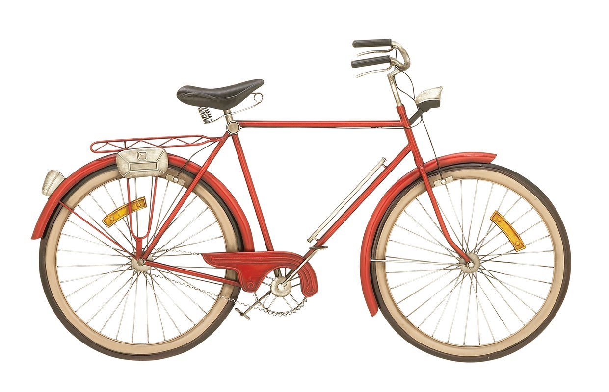 Cole & Grey Metal Bicycle Wall Décor & Reviews (Gallery 20 of 20)